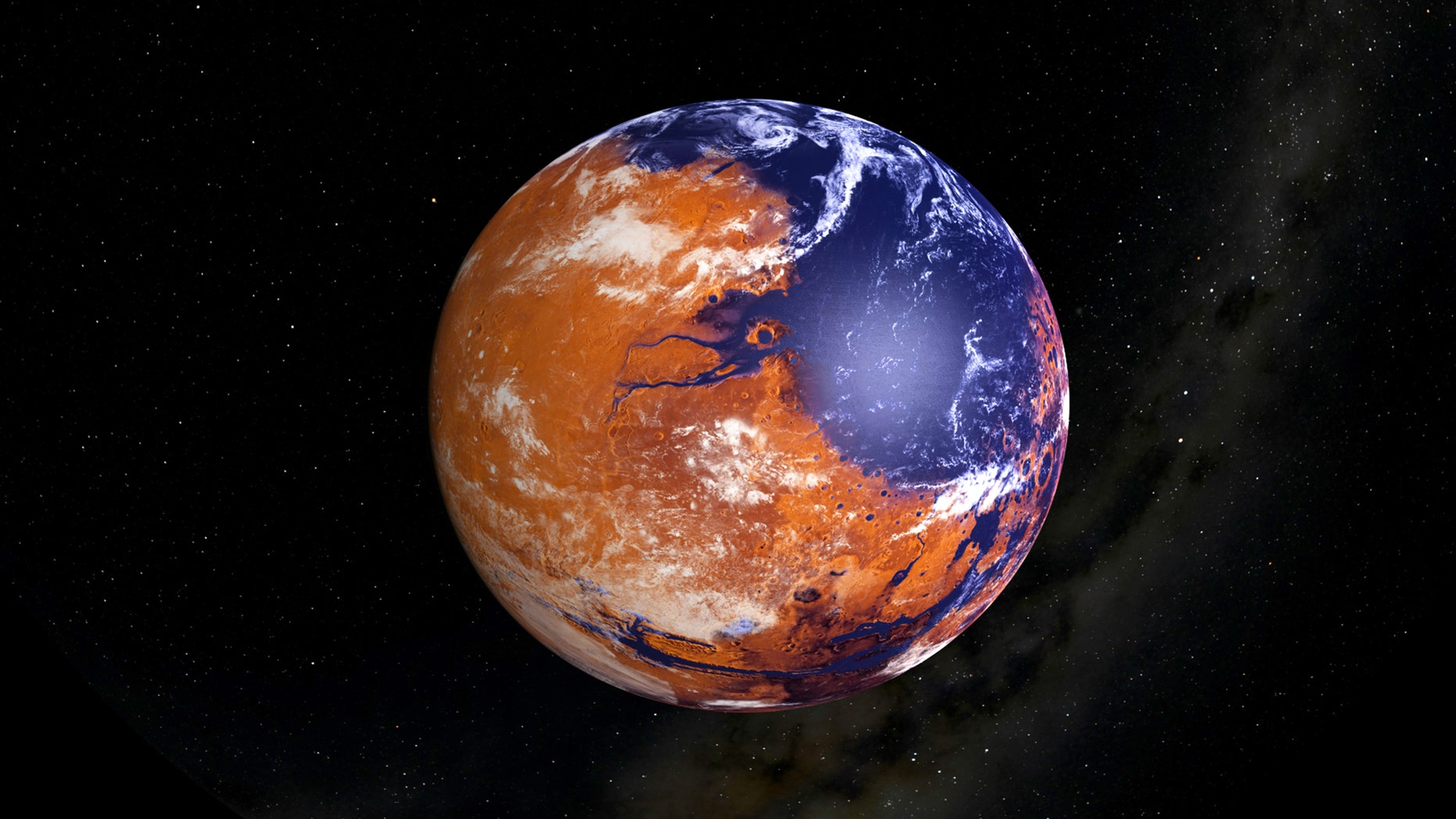 A wet Mars could have started off near the orbit of Venus before gravitational interactions early in its life drove the Red Planet out to its current orbit.