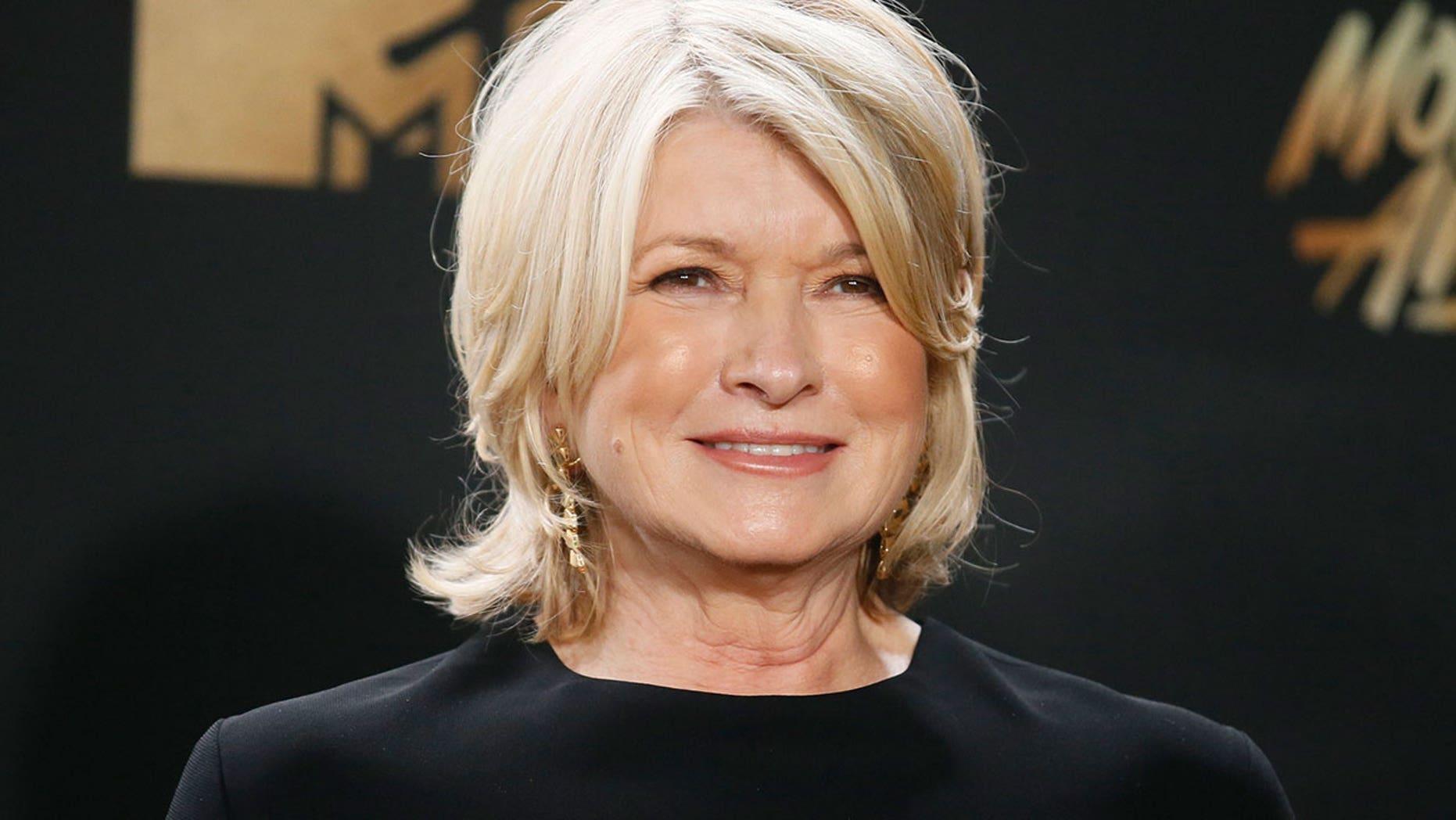Martha Stewart shares her guilty pleasure foods