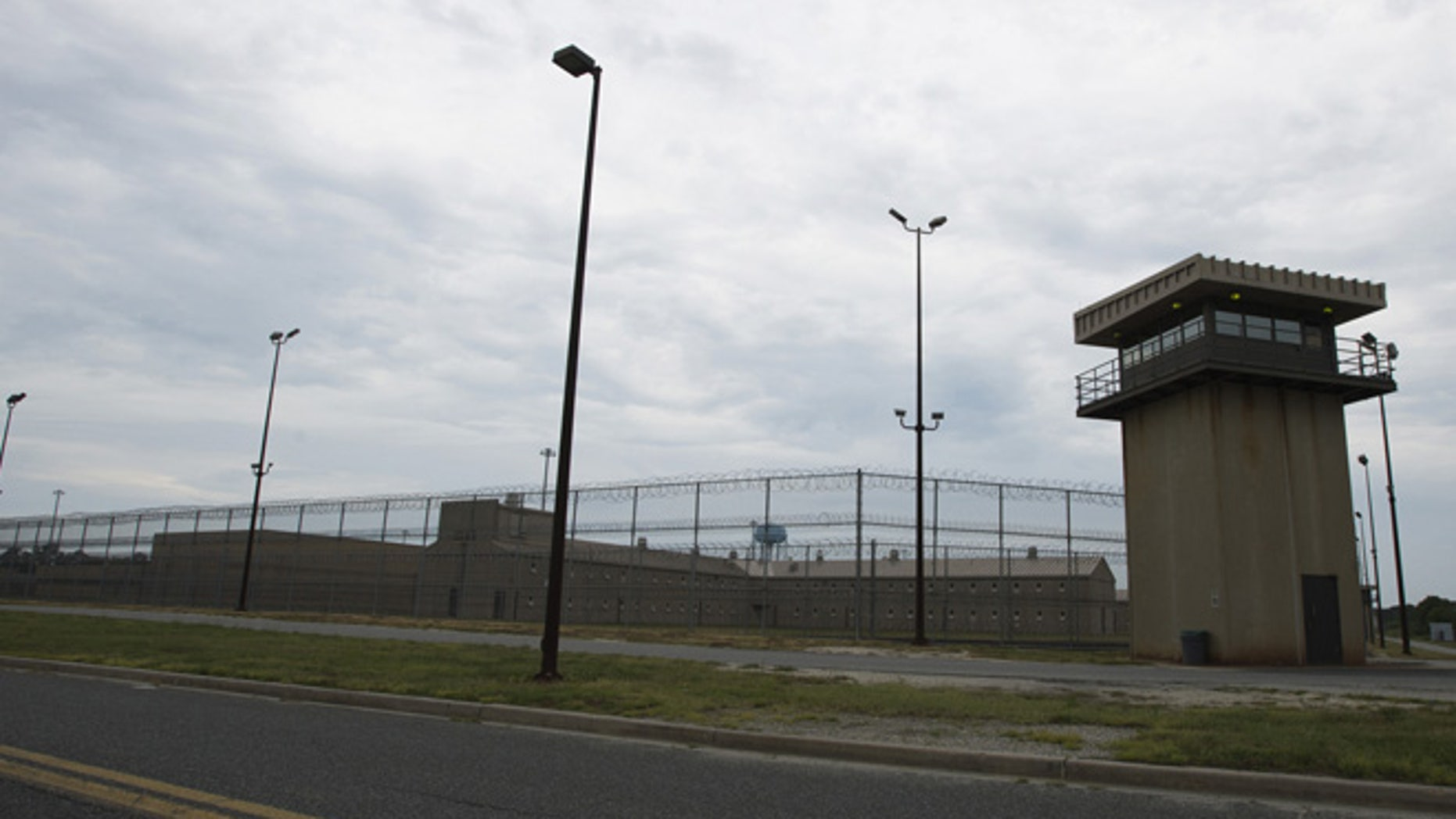 This 2014 photo shows the exterior of the Eastern Correctional Institution in Westover, M.D.