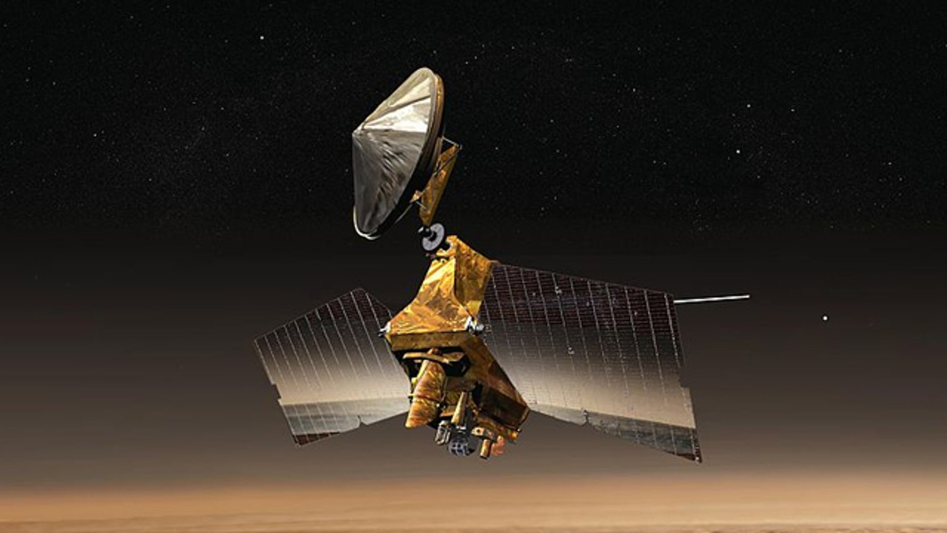 The Mars Reconnaissance Orbiter has made a significant discovery, according to NASA.
