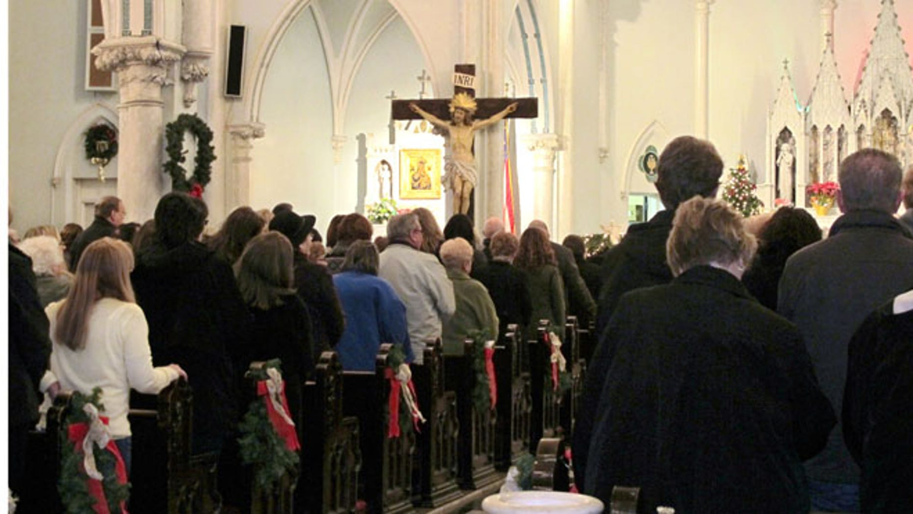Jan. 12, 2014 : This photo shows people gathered for mass inside Our Lady of Perpetual Help Church in Buffalo, N.Y., during a Mass Mob.