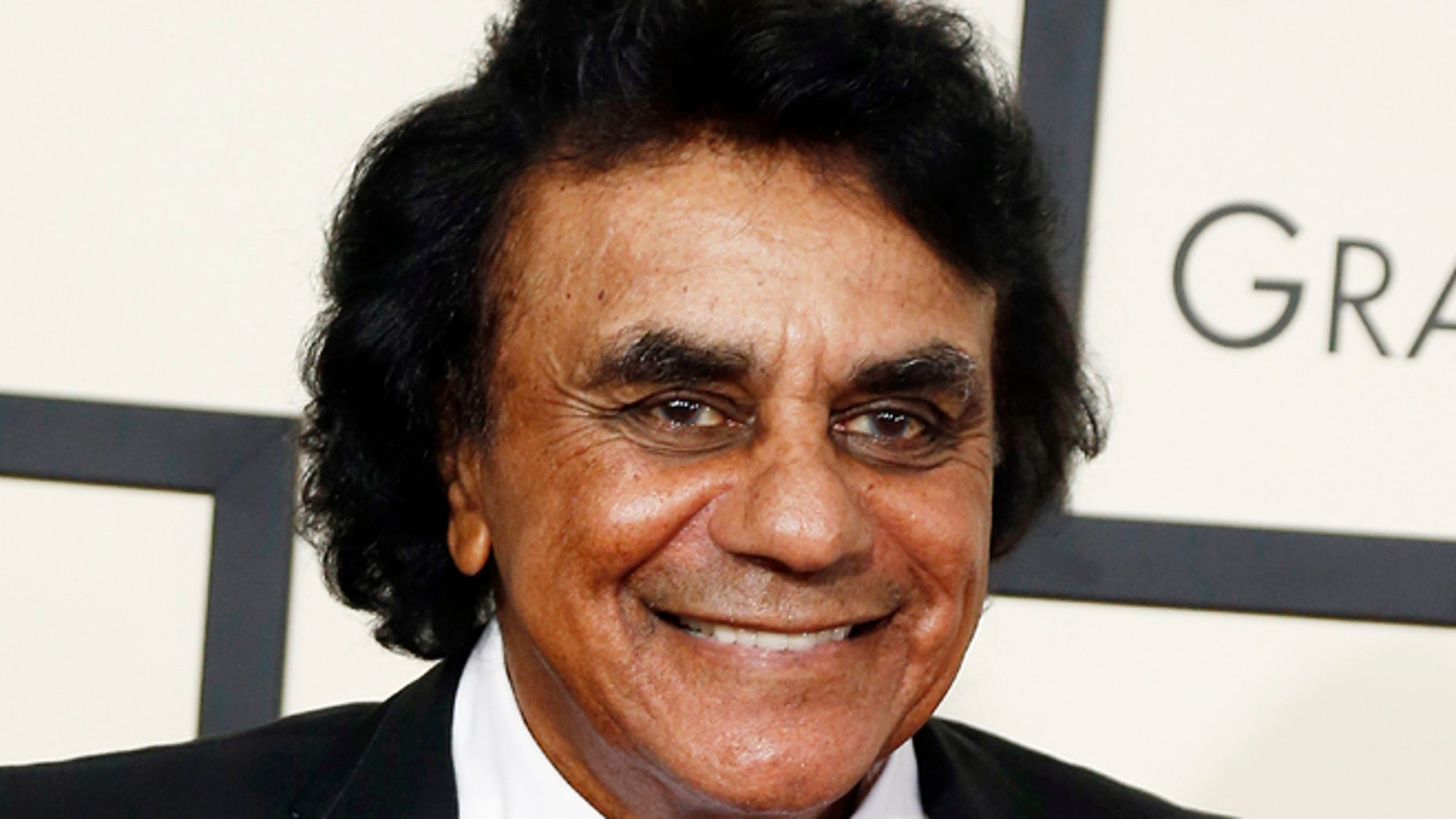Johnny Mathis credits Nancy Reagan with helping him overcome a drinking problem.