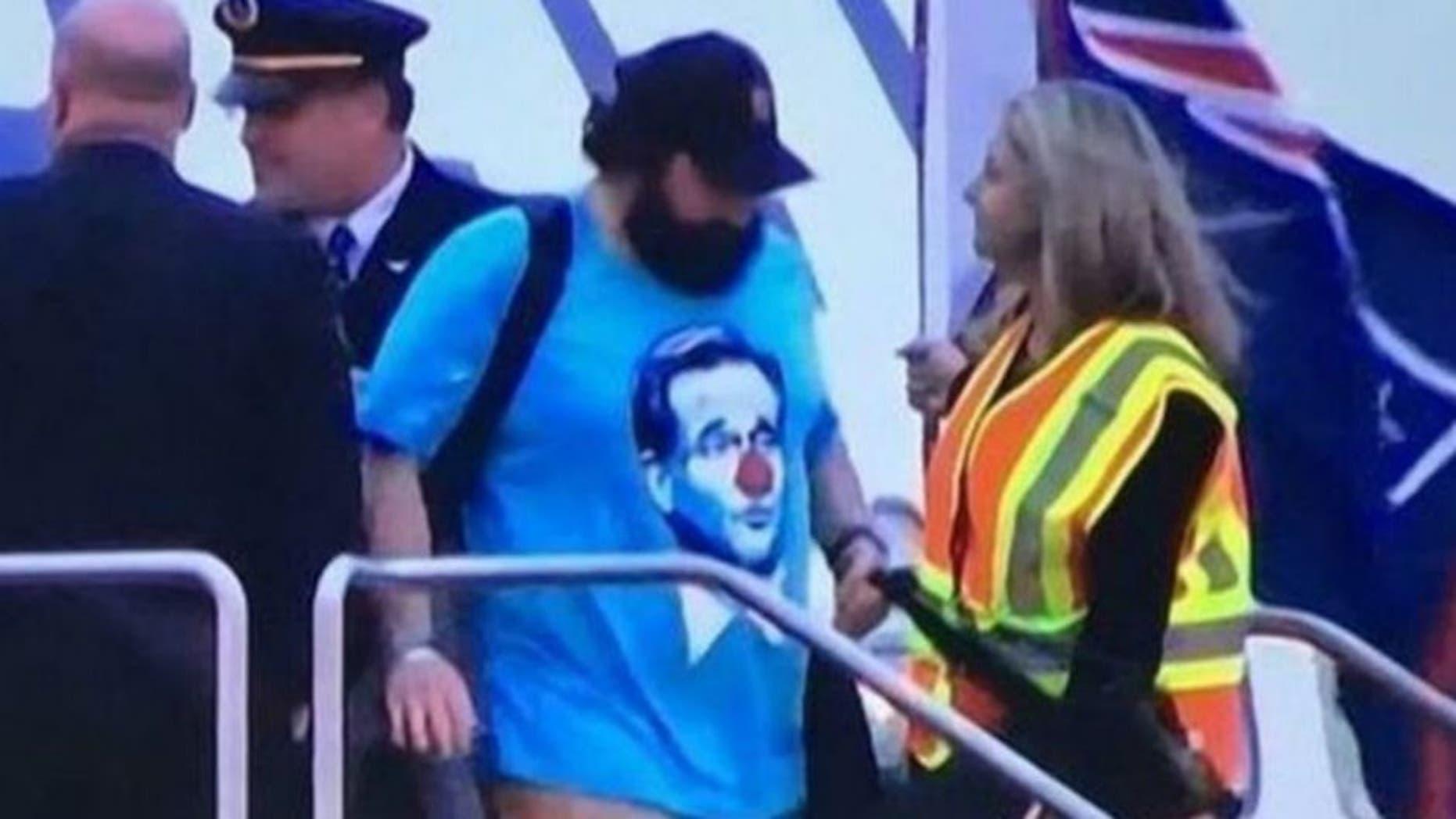 Colin Cowherd  Patriots  Matt Patricia will regret his Roger Goodell  clown   shirt c9de645ab