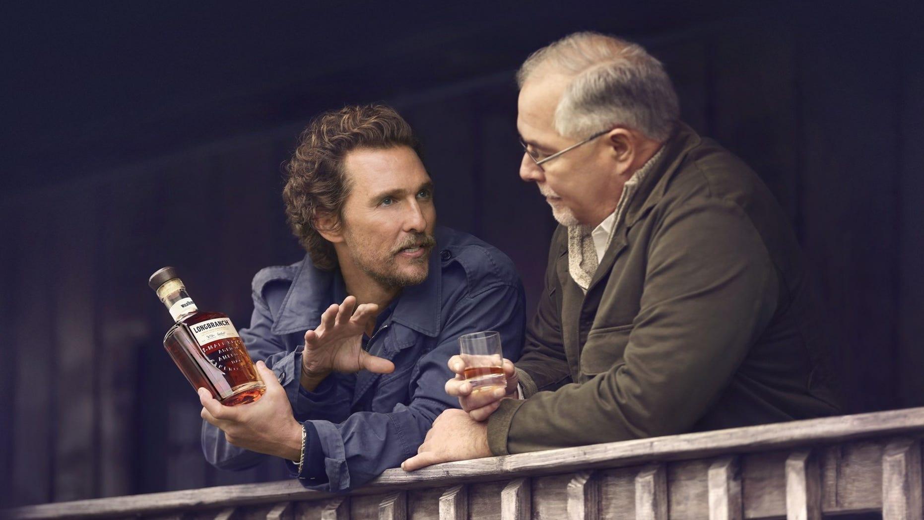 Matthew McConaughey and Eddie Russell launch Wild Turkey Longbranch.