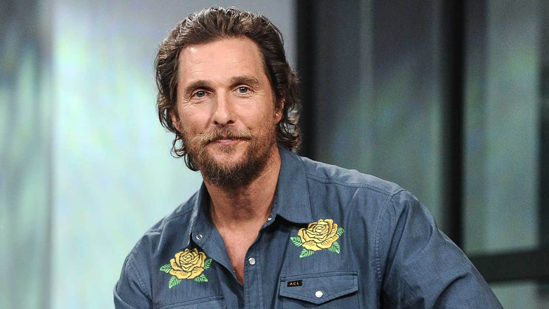 Matthew McConaughey discussed almost landing the lead in 'Titanic.'