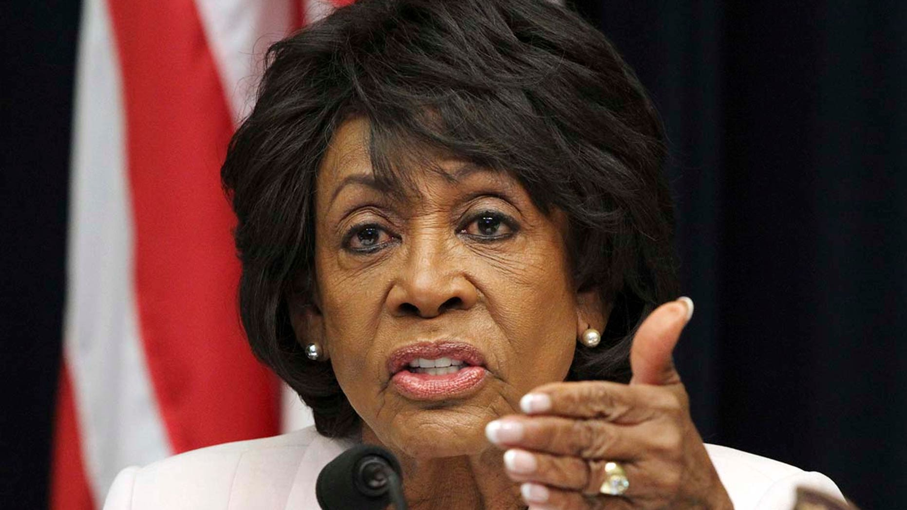 FILE: Rep. Maxine Waters, D-Calif., on Sunday was critical of President Trump's meeting with Russian President Putin.