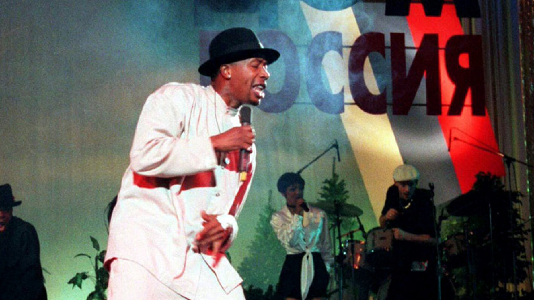 Carter said he used to be a backup dancer for MC Hammer, seen here in 1995.