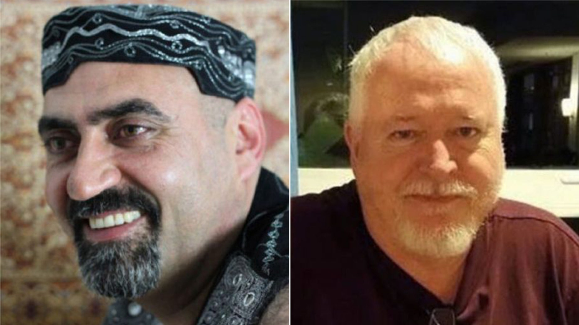 Bruce McArthur, right, is now facing a murder charge in relation to the death of Abdulbasir Faizi, left.