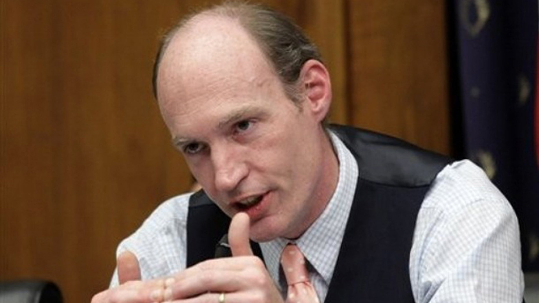 Shown here is Rep. Thaddeus McCotter.