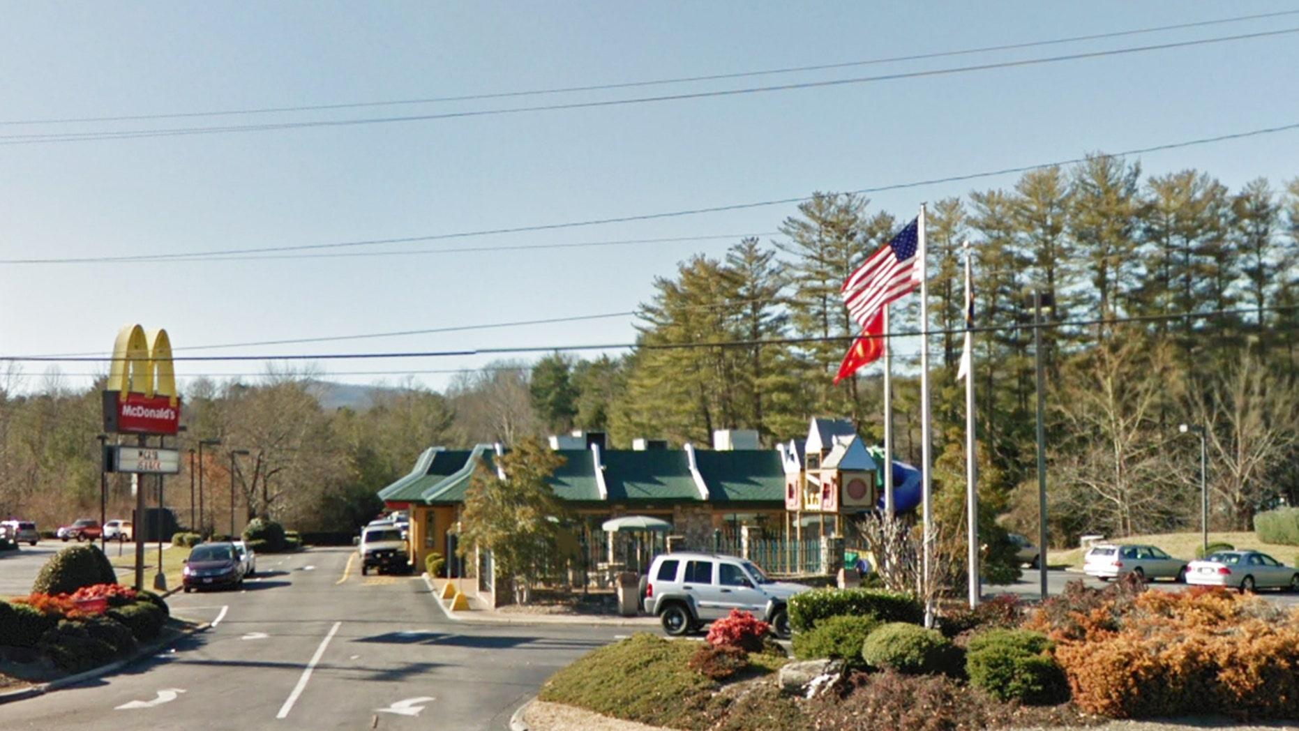 "The Brevard, N.C. McDonald's ""voluntarily"" closed for a few days last week."