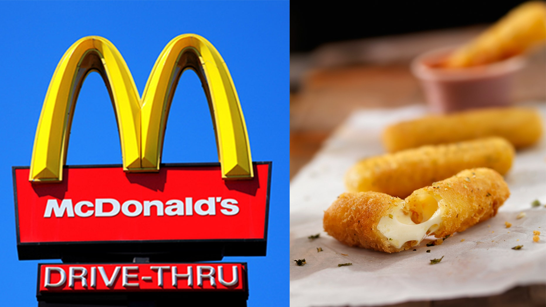 """A McDonald's diner said she was """"devastated"""" after McDonald's left out the mozzarella in her limited-edition mozzarella sticks."""