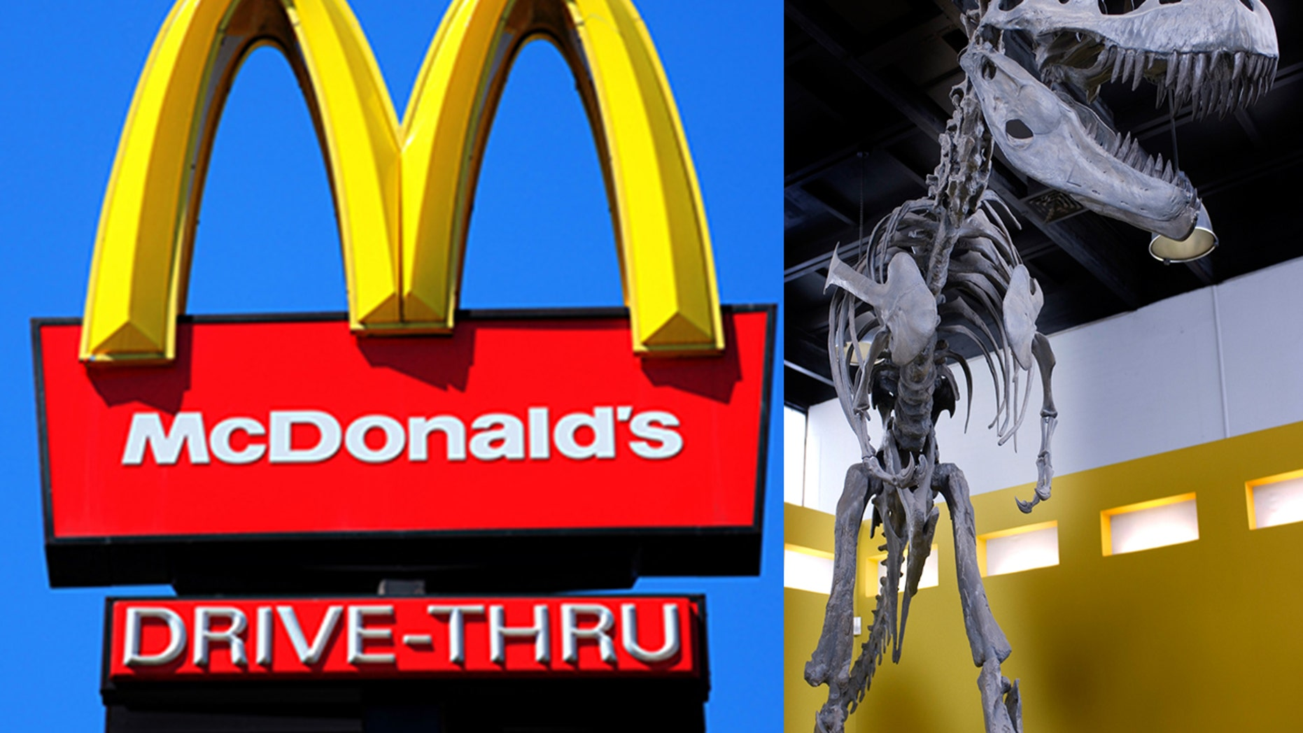 A dinosaur museum in British Columbia, Canada was not pleased over a 15-second McDonald's radio commercial that they felt belittled museums.