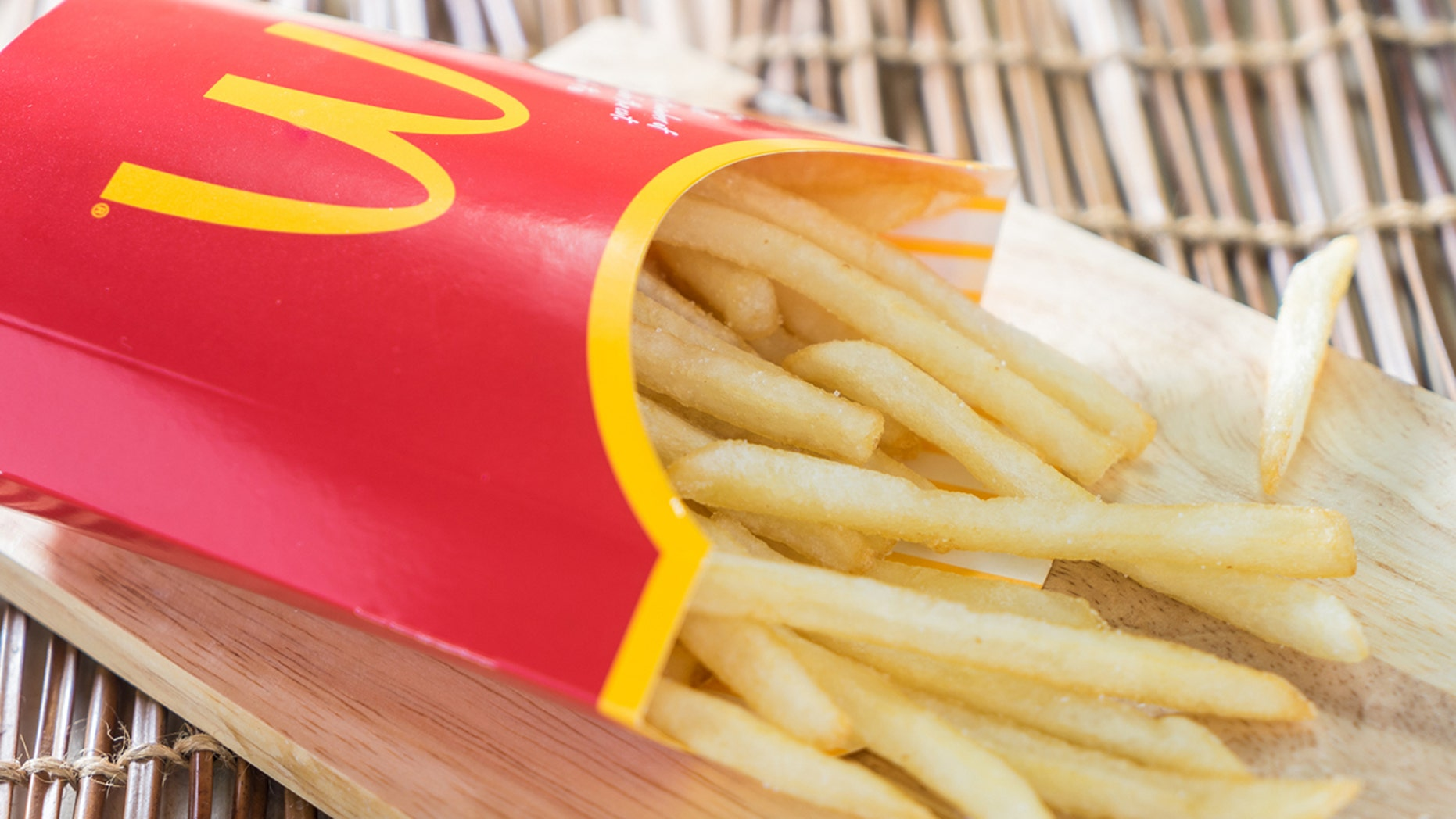 A Canadian man tried to take advantage of McDonald's 1 in 5 chances to win by purchasing 100 fries and one large drink.