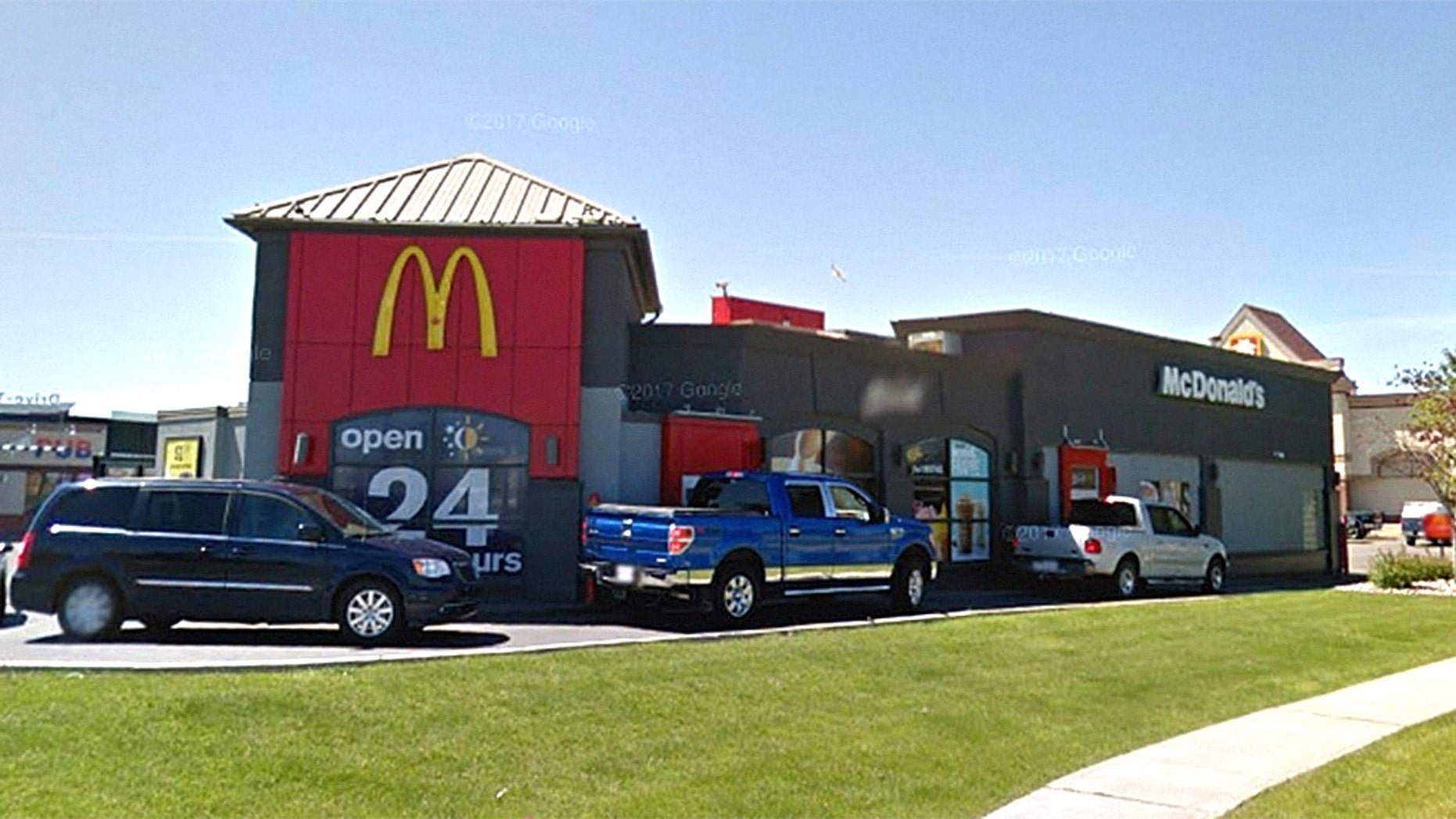A pregnant woman said this McDonald's in Letherbridge, Alberta, served her cleaning fluid instead of a latte.