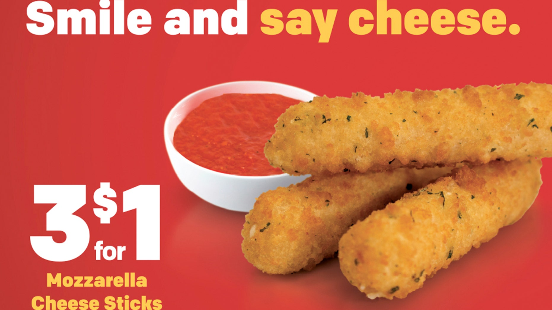 """McDonald's launched mozzarella sticks nationwide this month as part of a new """"McPick 2"""" promotion and sells them separately for 3 for $1."""