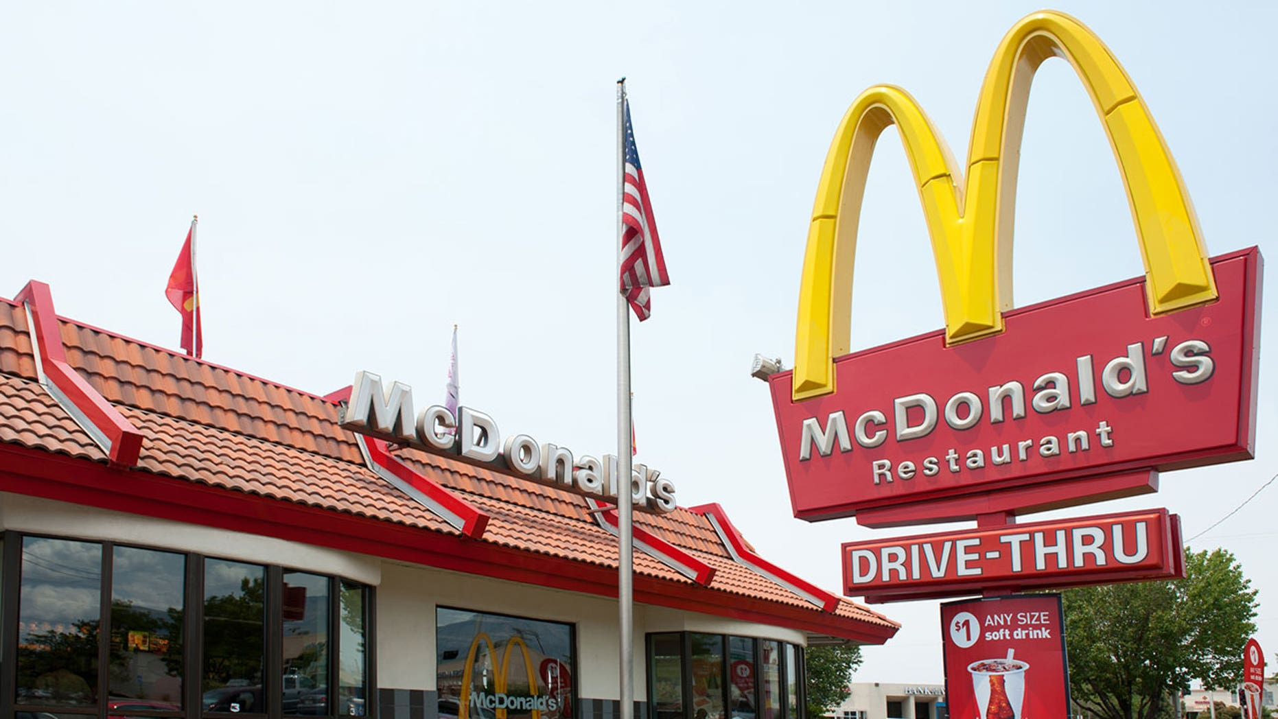 A Kentucky woman claims she found a needle in her McDonald's hamburger