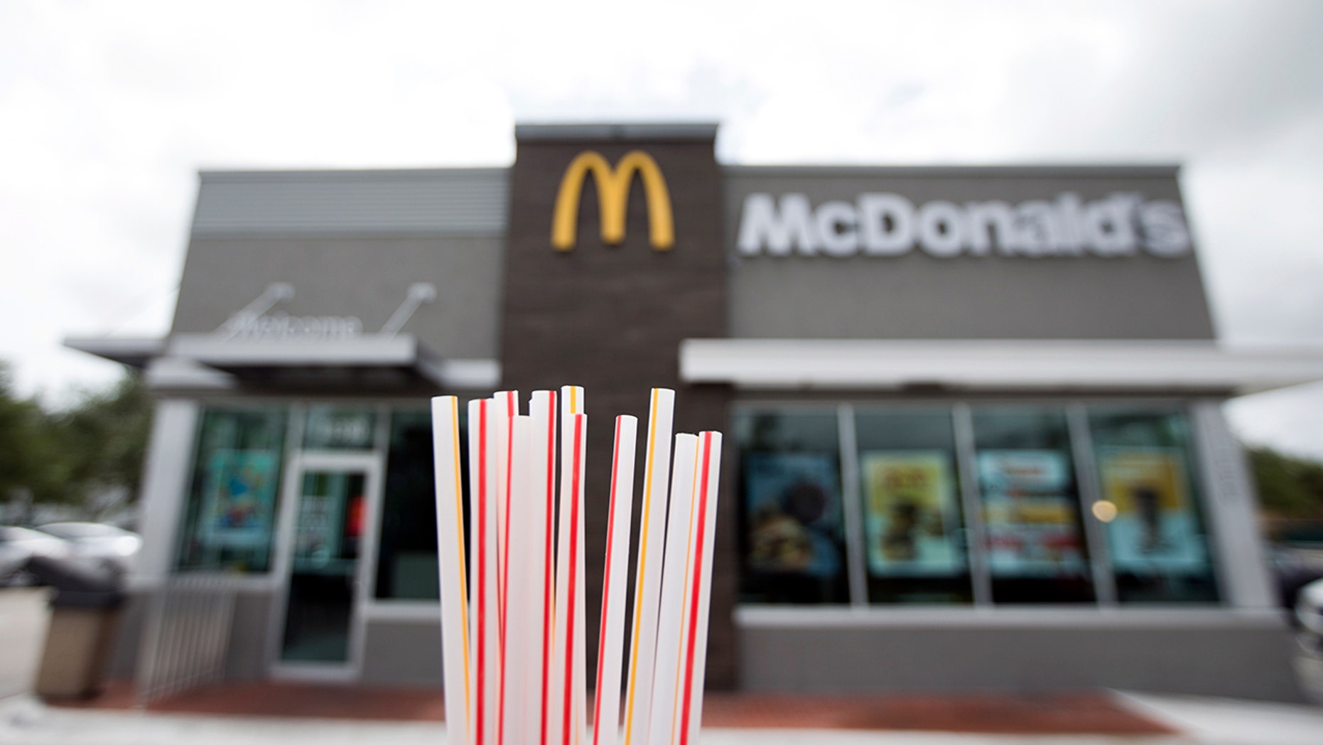 McDonald's announced it will begin testing plastic straw alternatives in the U.S. and transitioning to paper straws in the U.K.