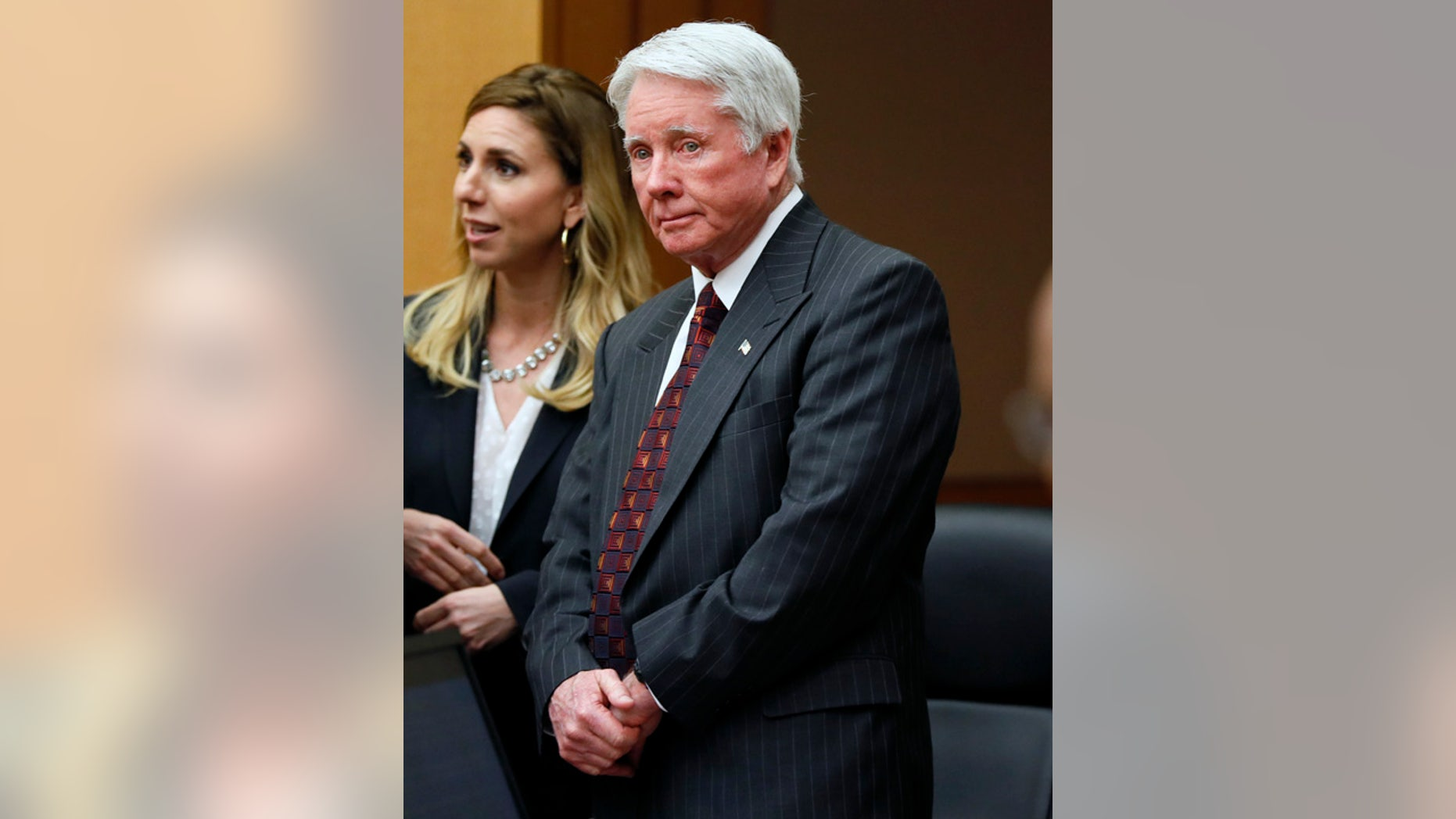 "Prosecutors said Claud ""Tex"" McIver coveted his wife's money when he shot her in the back of their car in September 2016."