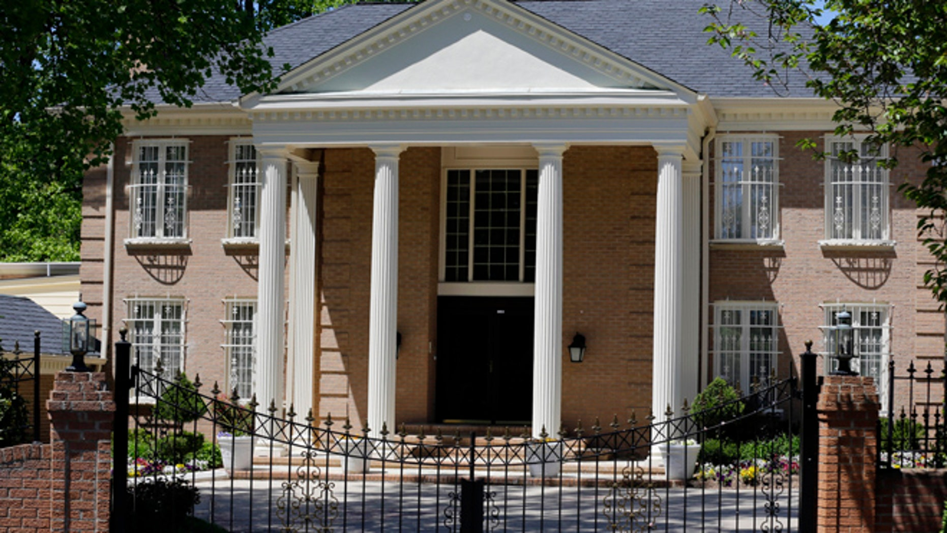 May 2, 2013: Shown here is the McLean, Va., home owned by the government of Saudi Arabia, which was investigated by U.S. Immigration and Customs (ICE) officials on a report of human trafficking.
