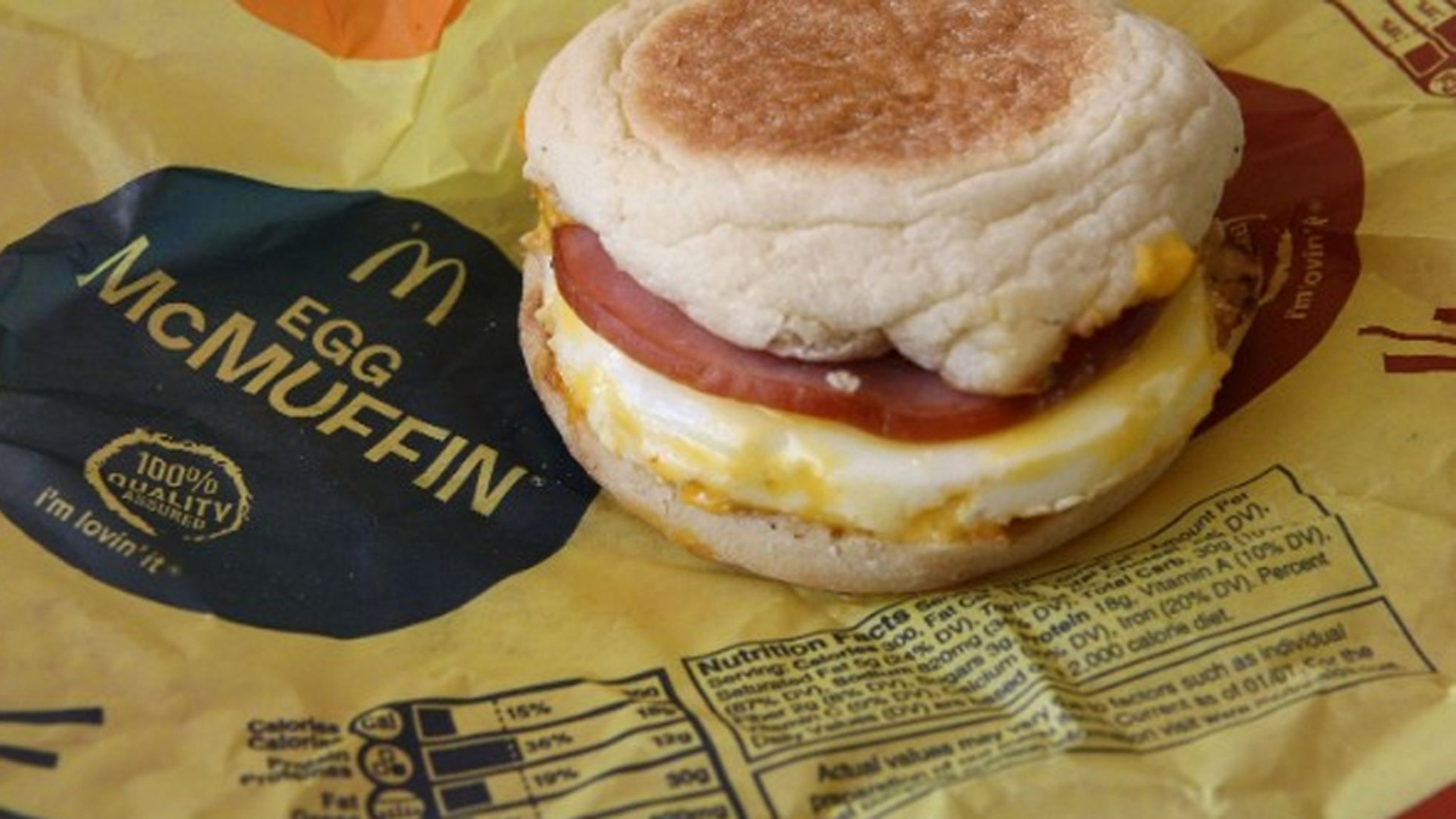 McDonald's launched all-day breakfast nationwide Tuesday.