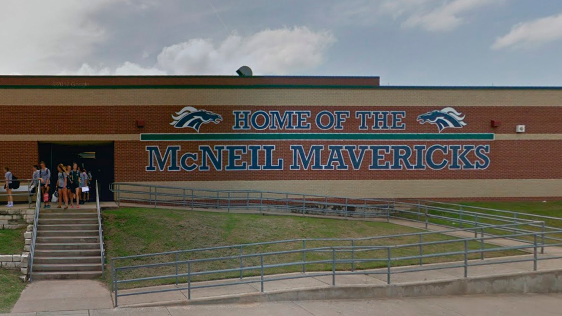 A biology teacher at McNeil High School is on administrative leave after allegedly mocking a student for supporting President Trump.