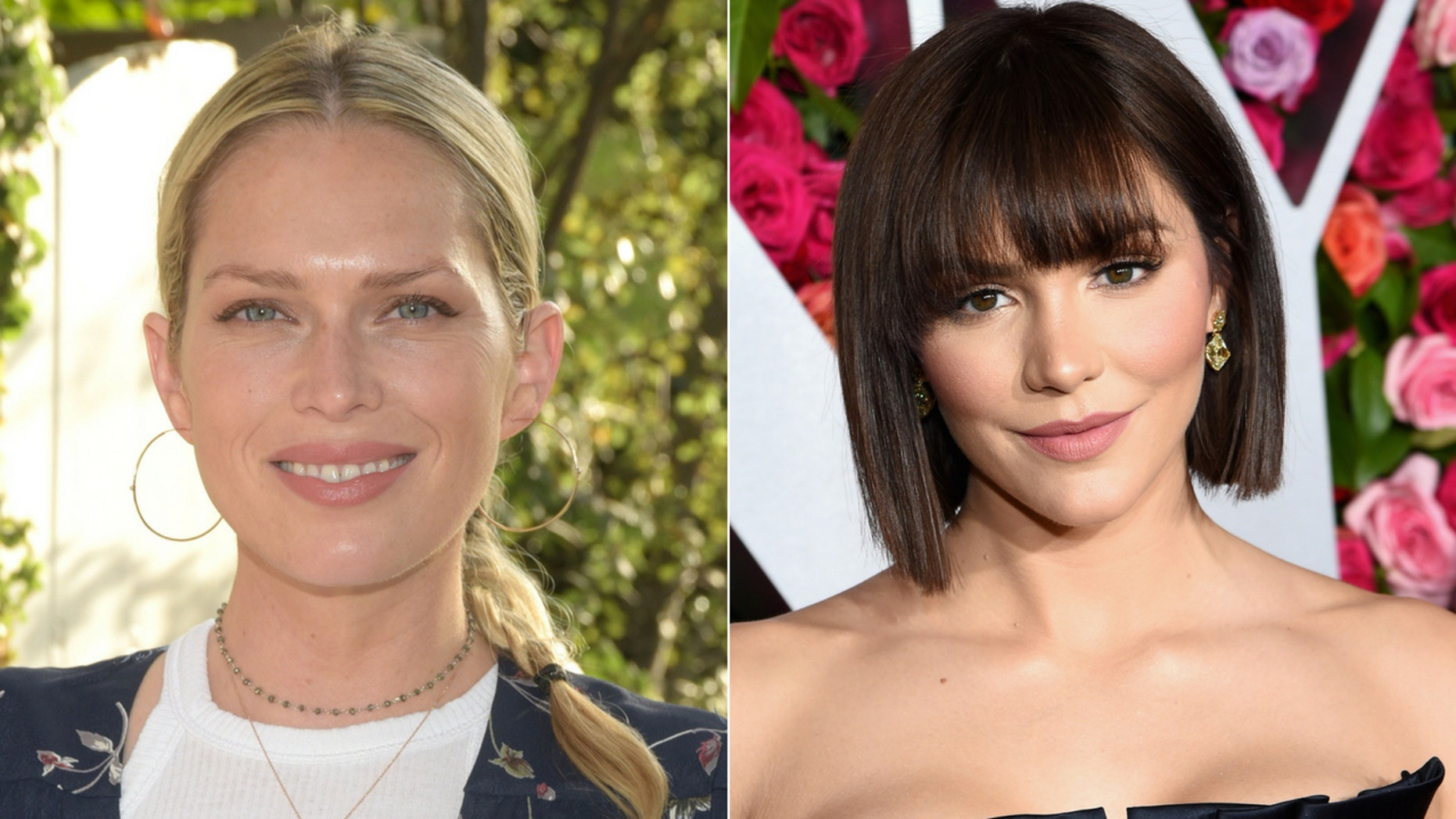 """Katharine McPhee joked to Erin Foster that """"mommy and daddy need alone time"""" during her romantic trip with fiance David Foster."""