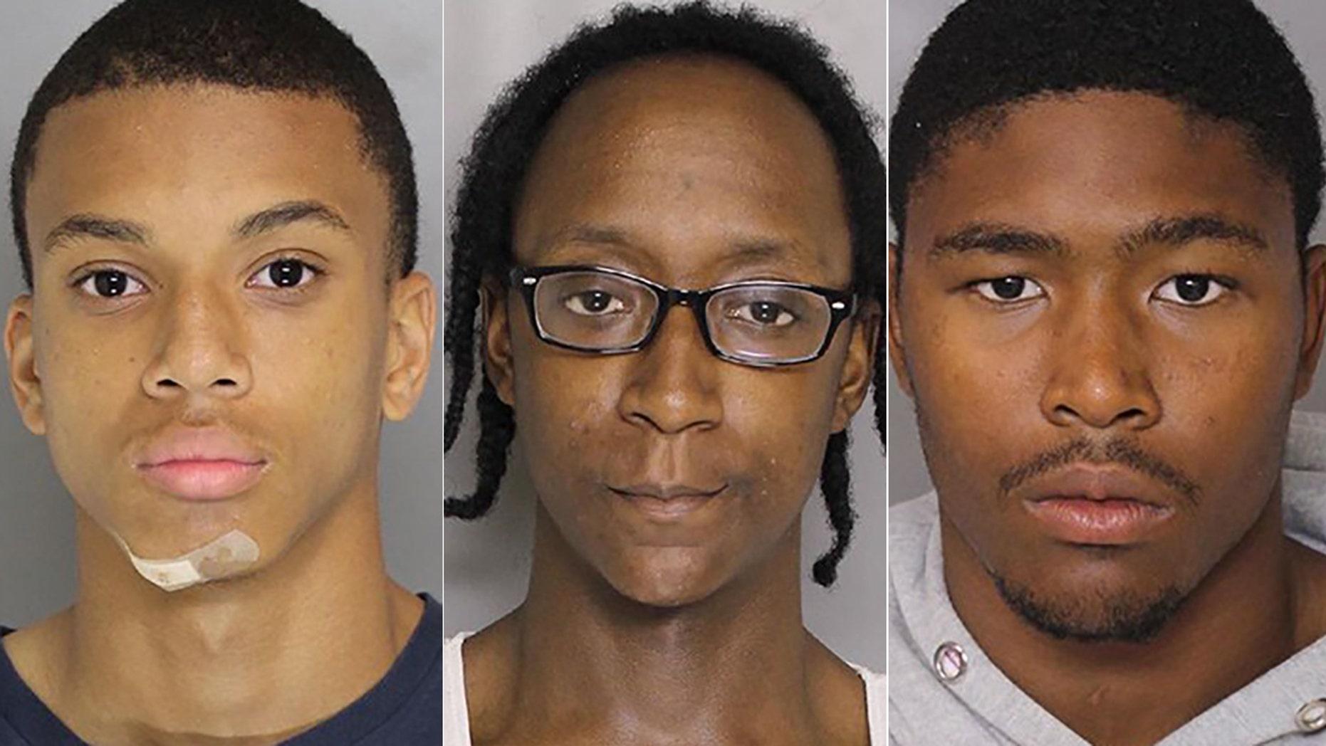 Eugene Robert Genius, Derrick Eugene Matthews and Darrell Jaymar Ward were charged with murder.