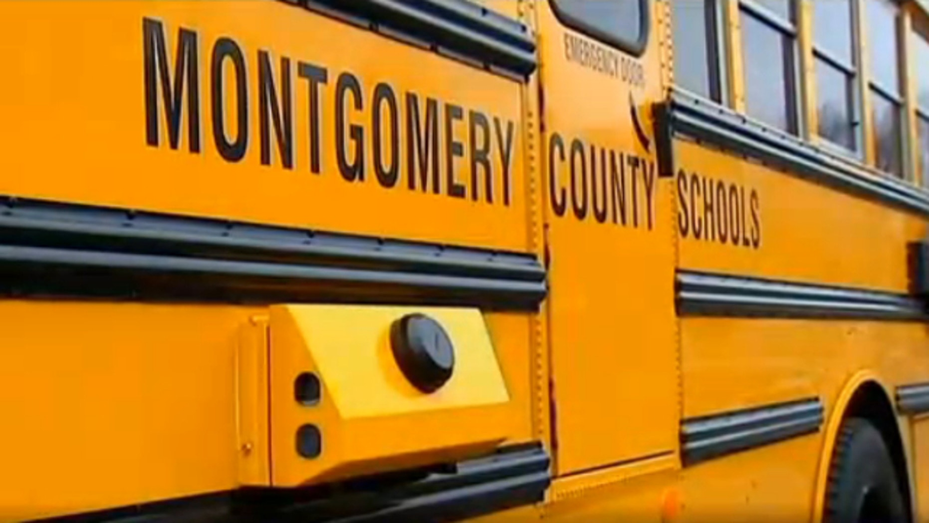Montgomery County Public Schools is reportedly spending $250,000 to outfit buses with cameras to target drivers passing by stopped school buses.
