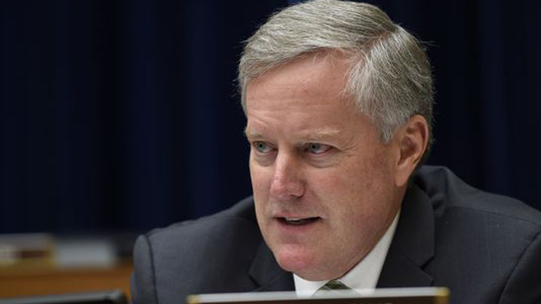Mark Meadows, chairman of the House Freedom Caucus.