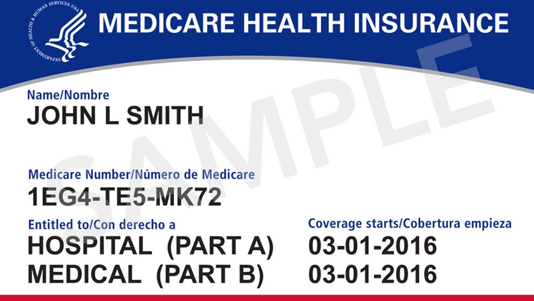 The new Medicare card no longer contains Social Security numbers.