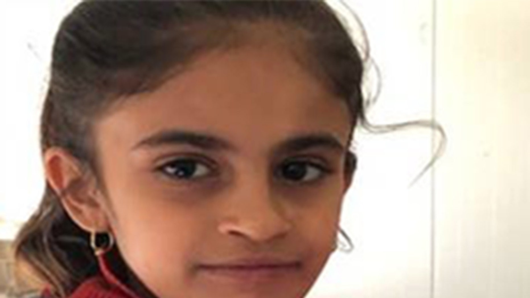 Medya, an eight-year-old Yazidi, is a survivor of ISIS occupation in Iraq.