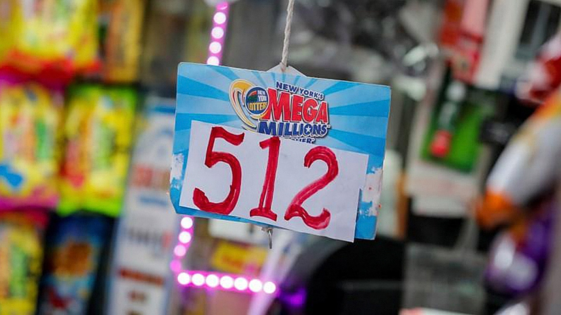 The single-winning Mega Millions ticket was bought in San Jose, California, according to lottery officials.