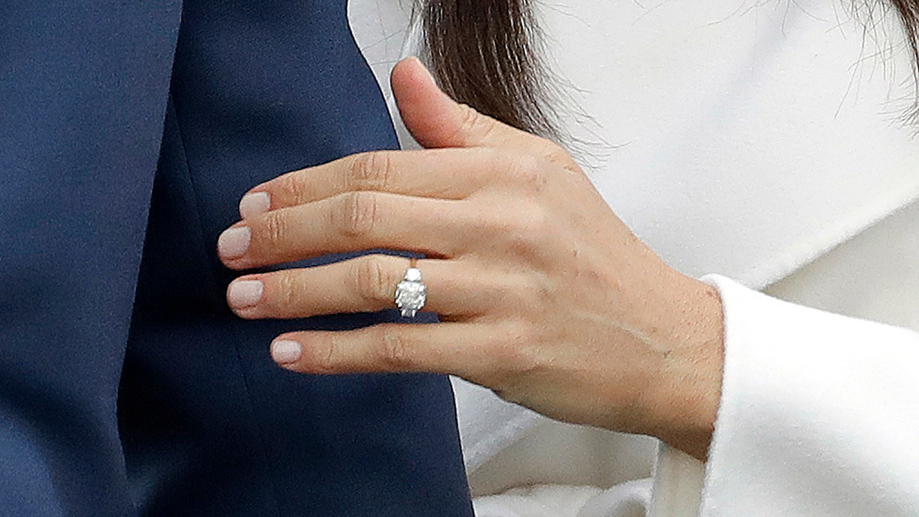 Meghan Markle's engagement ring is crafted with diamonds from Princess Diana's personal collection.