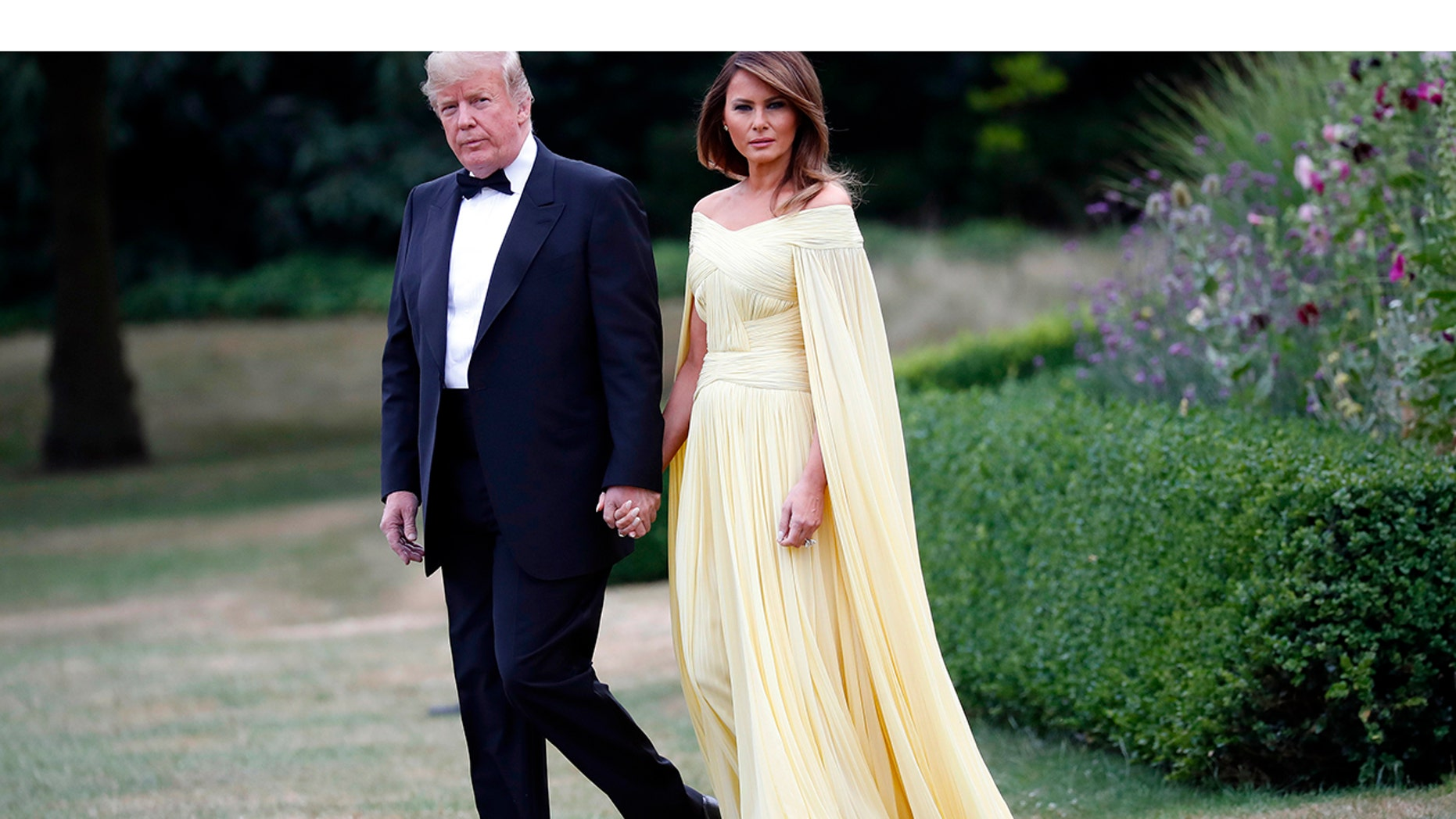 Melania Trump praised for J. Mendel gown: \'She looks like a princess ...