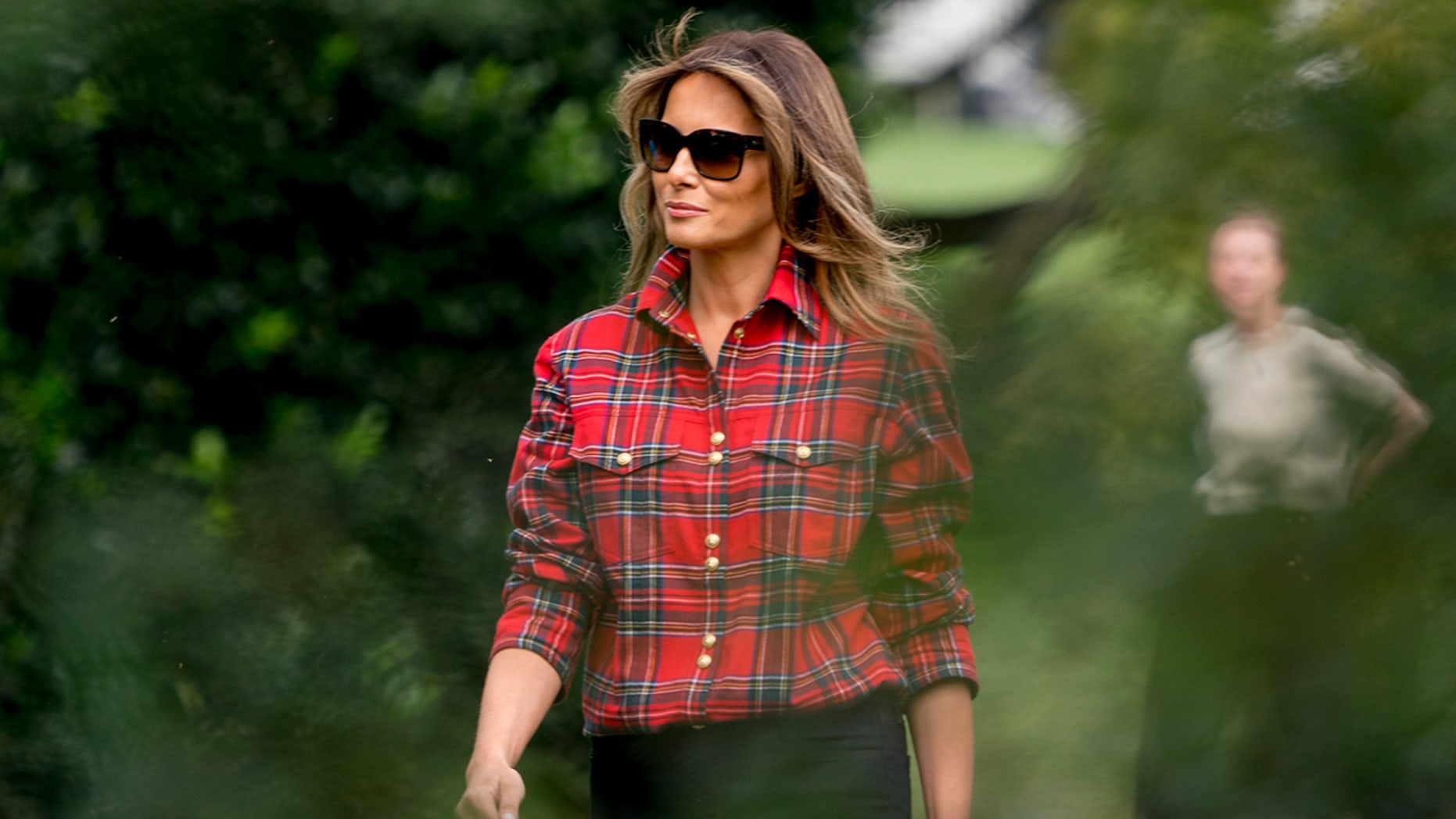 Melania Trump is set to take her biggest step yet as first lady. She's leading a U.S. delegation to a sporting event in Toronto for wounded service members, her first solo trip outside of the U.S. to represent her adopted country without President Donald Trump by her side.