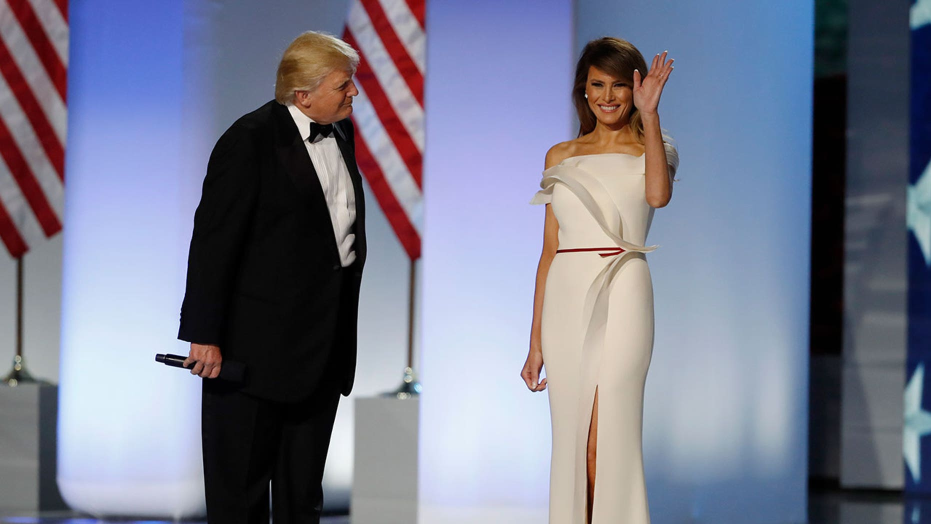 melania trump to present inaugural ball gown to smithsonian fox news