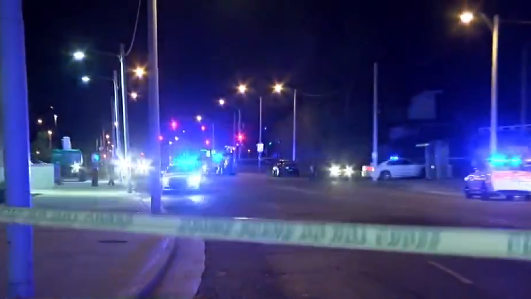 Two people were killed and four others wounded when they were shot inside their vehicle in Memphis.