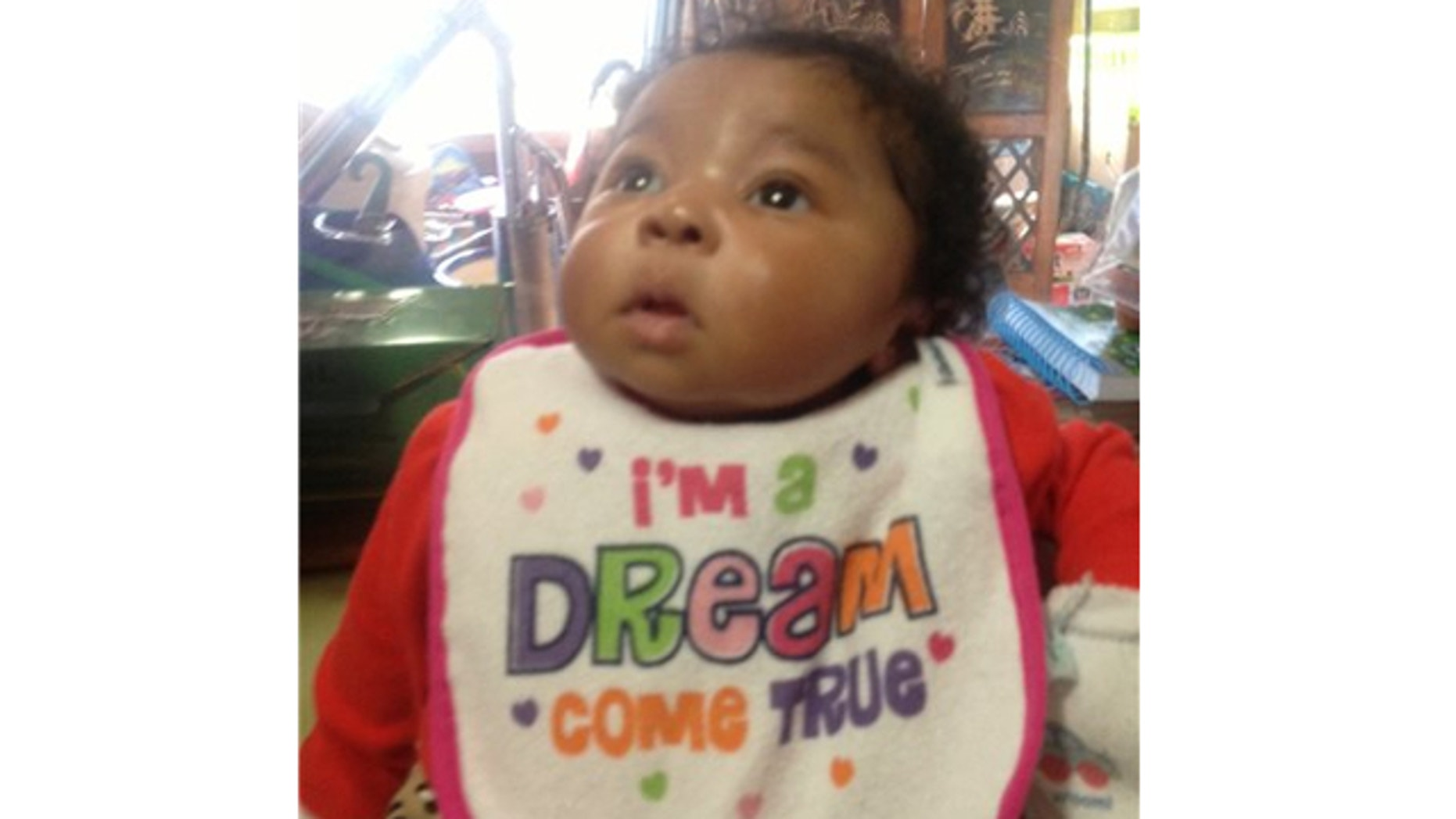 UNDATED: This photo provided by the Memphis Police Department shows 7-week-old Aniston Walker of Memphis, Tenn.