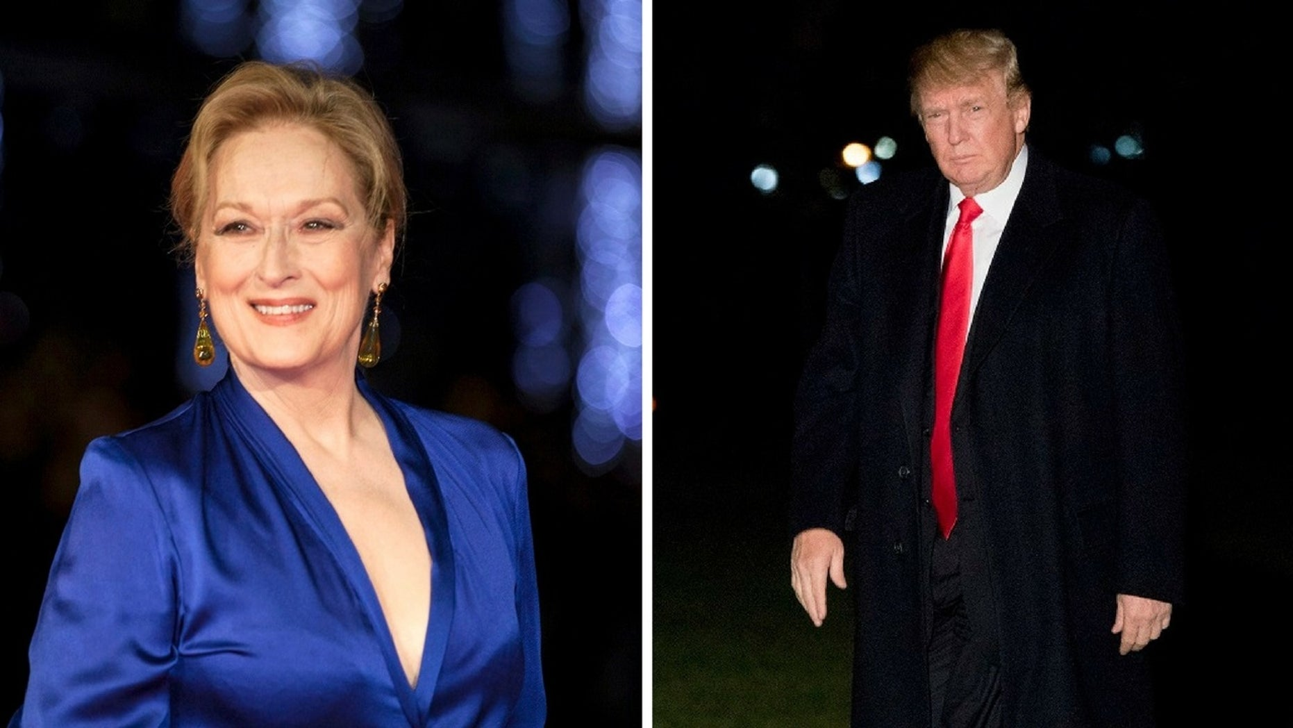 Meryl Streep said she has no interest in being a political figure during President Trump's tenure.