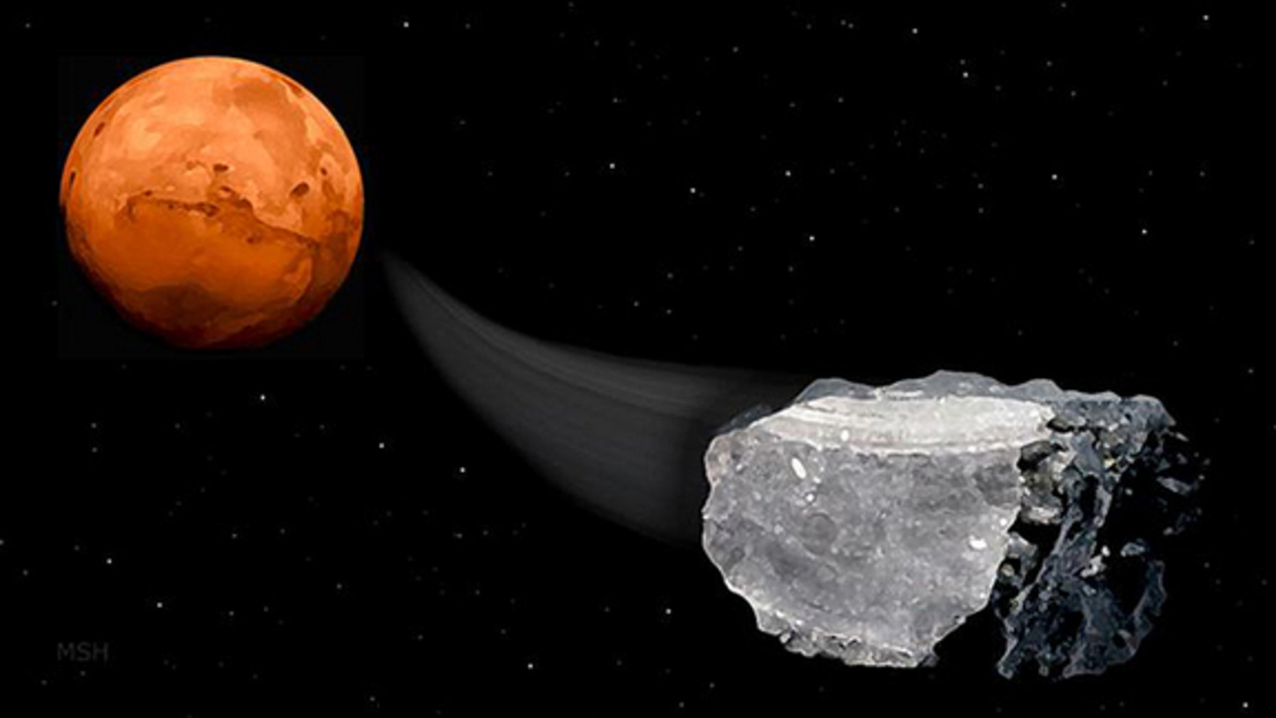 Meteorites from Mars found on Earth have traces of methane, adding weight to the idea that life could live off methane on the Red Planet, scientists say. But the methane detection alone is not proof that life exists on Mars now or in the past,