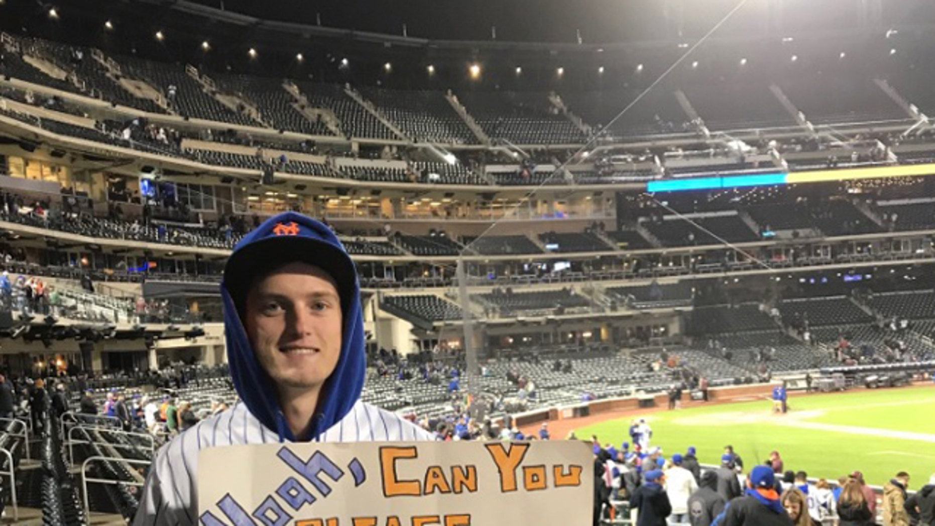 "Connor Jagemann, 21, said he found out that Mets pitcher Noah Syndergaard, known as ""Thor,"" blocked him over a year and a half ago when he received the message ""Noah Syndergaard has blocked you."""