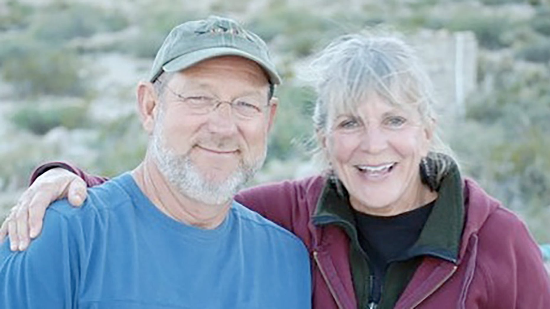Ray Ball, left, and Jo Anne Butler.