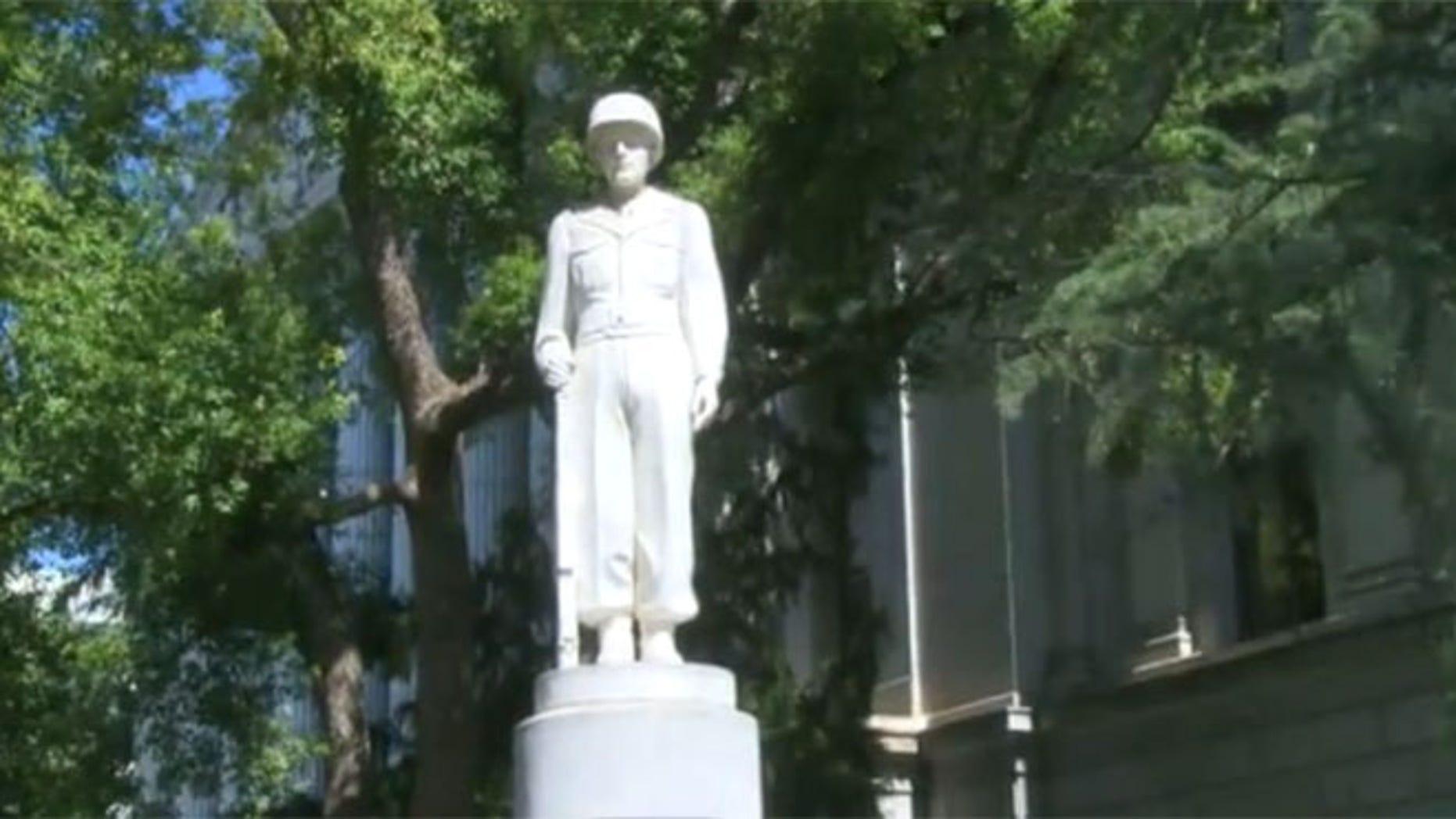 Sacramento, CA, July 14, 2015: Mexican-American Veteran Memorial