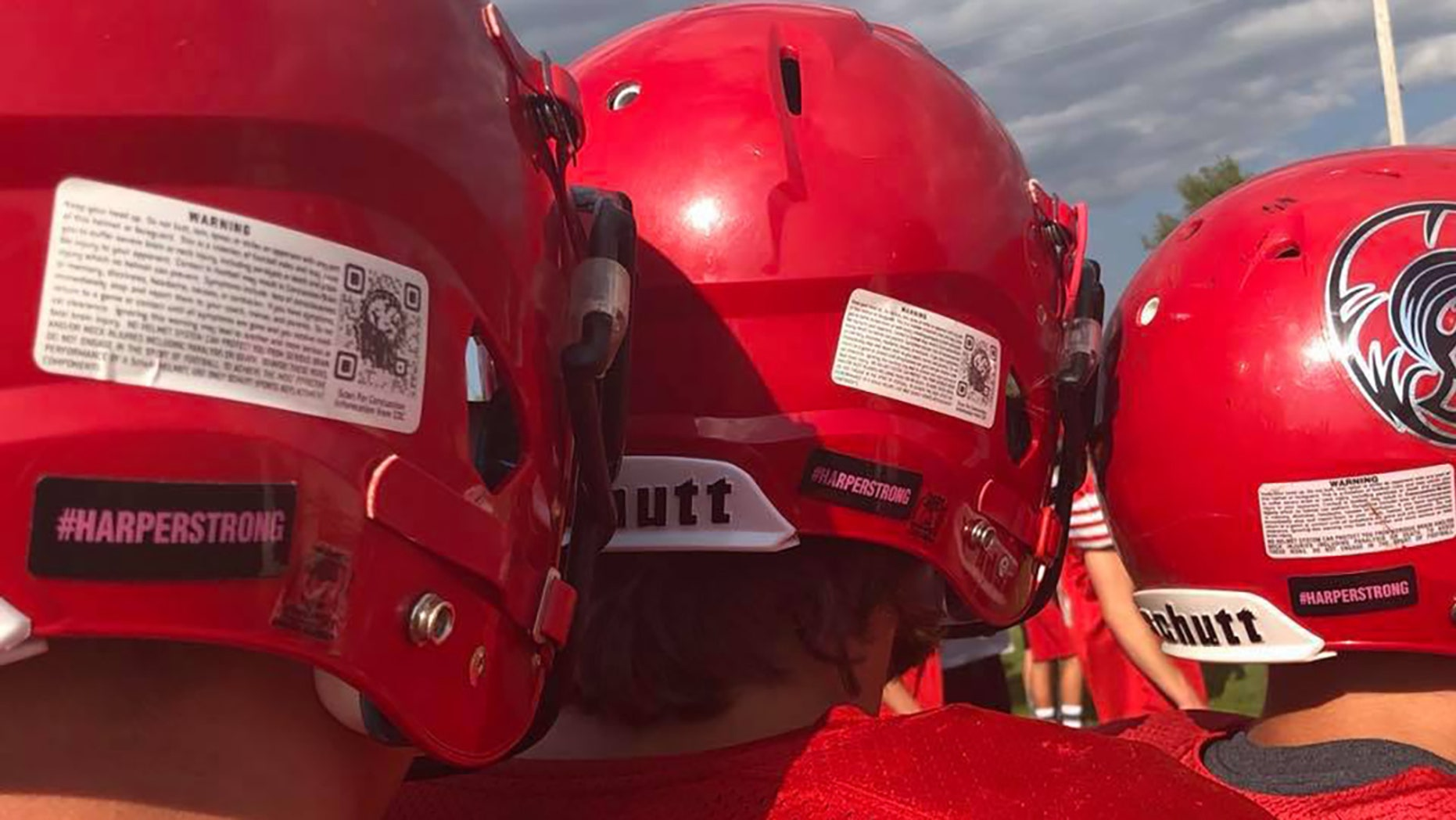 The #HarperStrong movement supported the daughter of Lake City High School coach Kyle Smith.