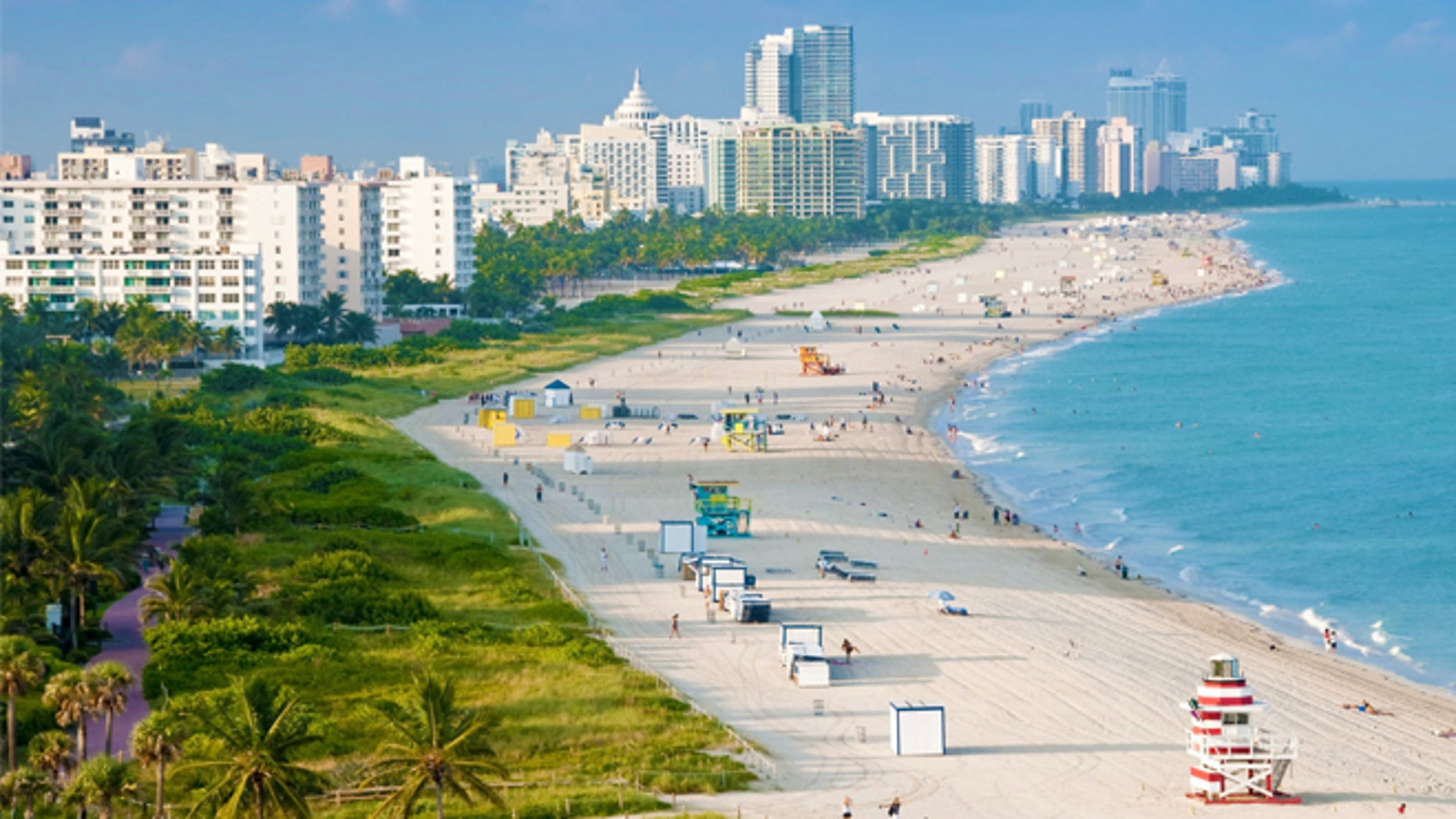 Miami International Airport had 45.7 million domestic visitors for the first half of 2015.