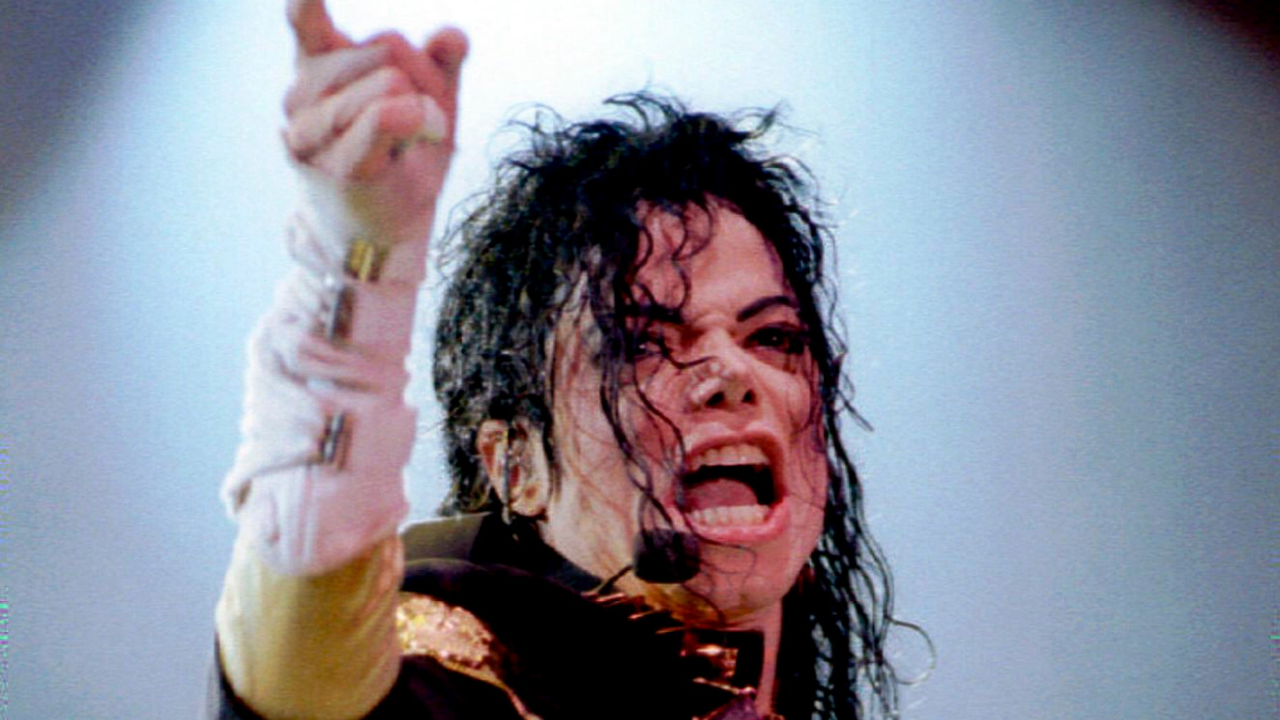 December 12, 1992. Michael Jackson performs at the Tokyo Dome in the opening show of his Japanese tour.
