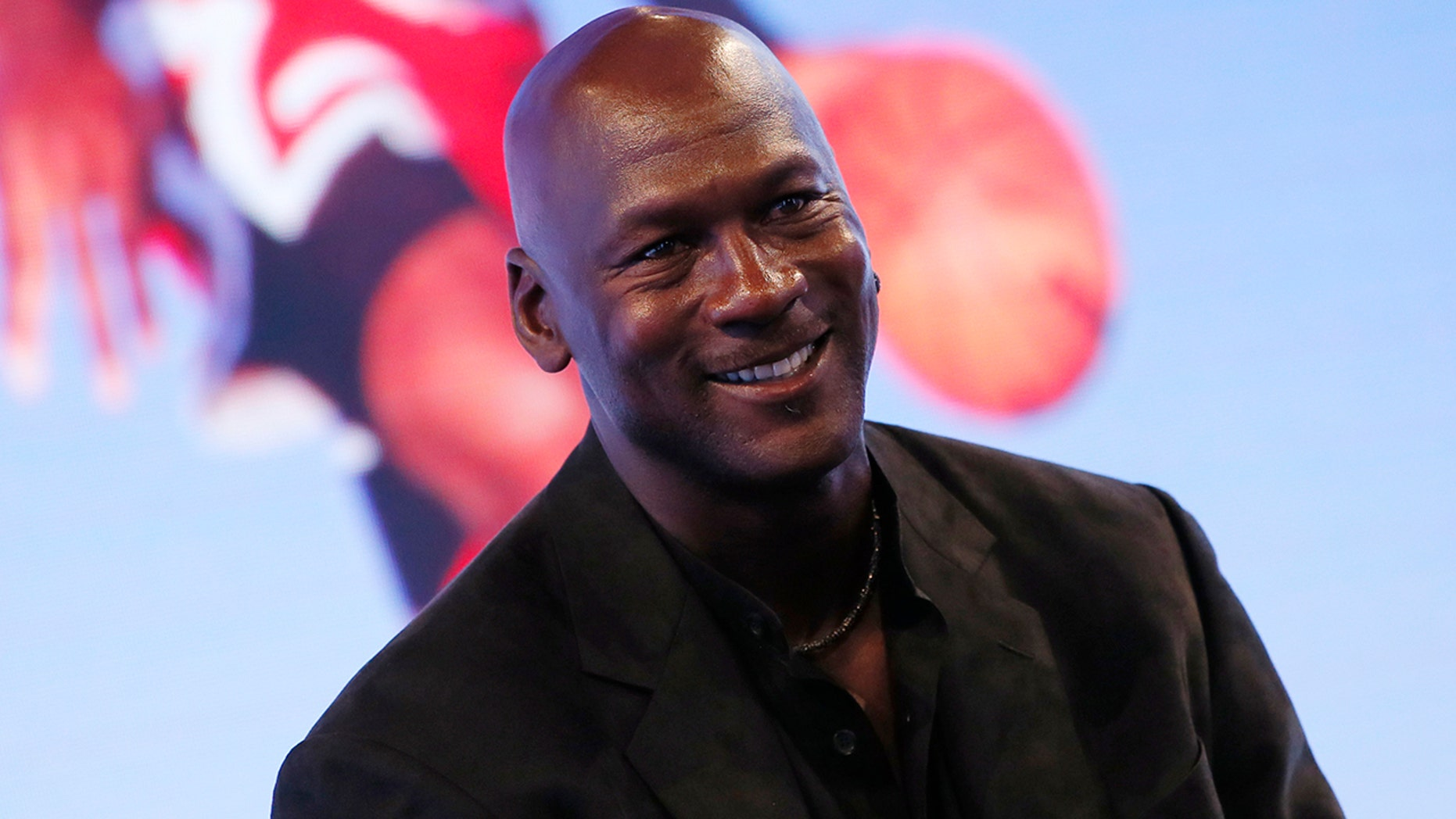 Former basketball great Michael Jordan attends a party celebrating the 30th anniversary of the Air Jordan shoe line in Paris, June 12, 2015.