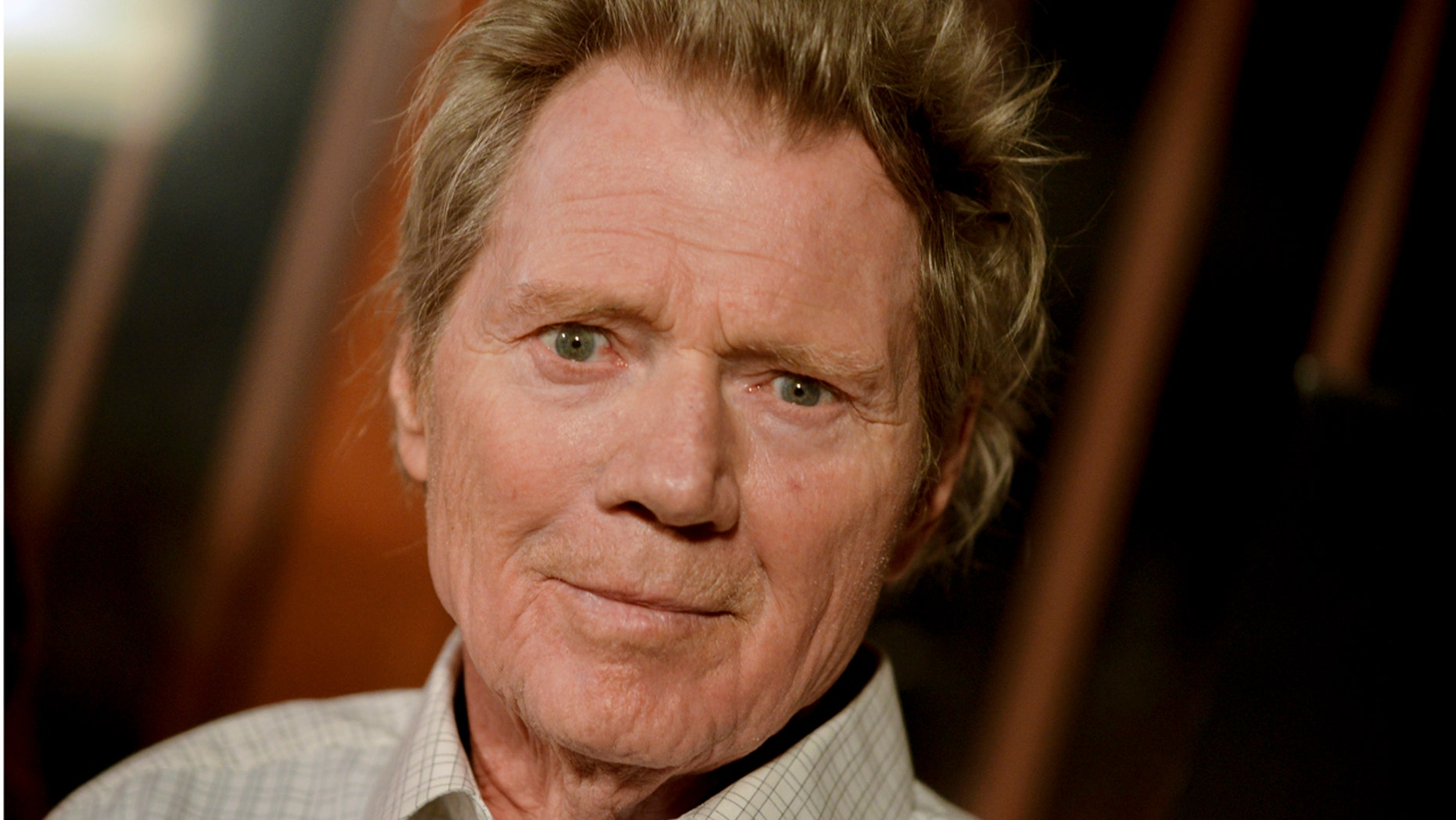 """FILE - In this Sept 16, 2014 file photo, Michael Parks arrives at the LA Premiere Of """"Tusk"""" in Los Angeles. Michael Parks, a prolific character actor and a favorite of directors Quentin Tarantino and Kevin Smith, died Tuesday, May 10, 2017 in Los Angeles. He was 77. (Photo by Richard Shotwell/Invision/AP, File)"""