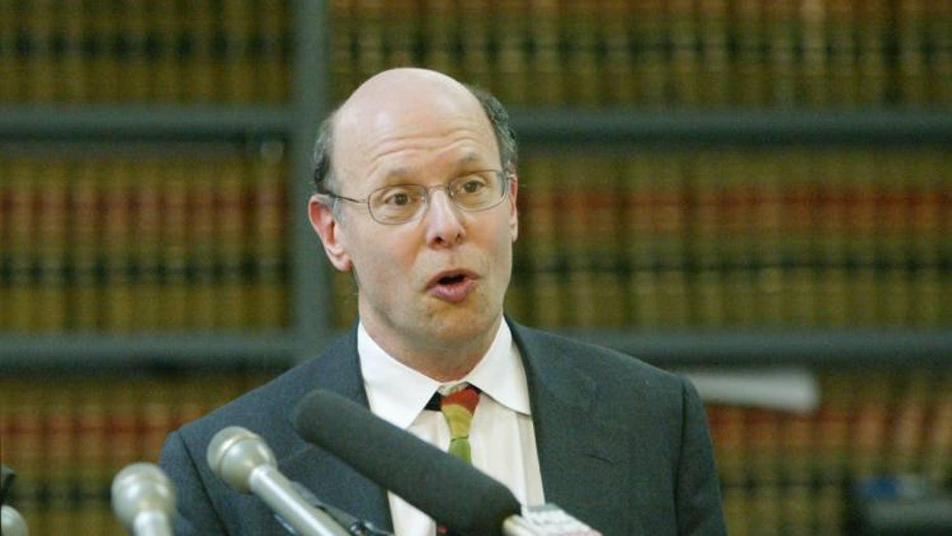 Michael Ratner in 2004.