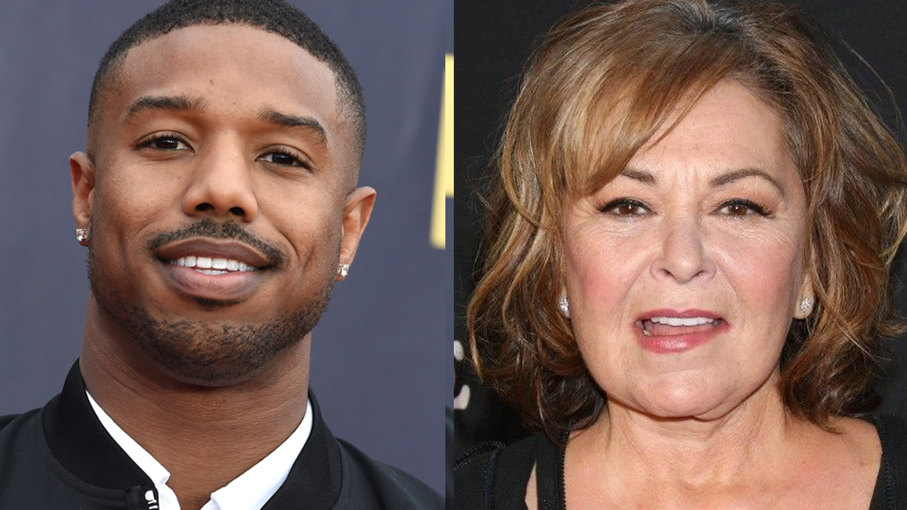 After winning the villian award at the MTV Movie and TV Awards, Michael B. Jordan joked that the award should have gone to Roseanne Barr after firing.